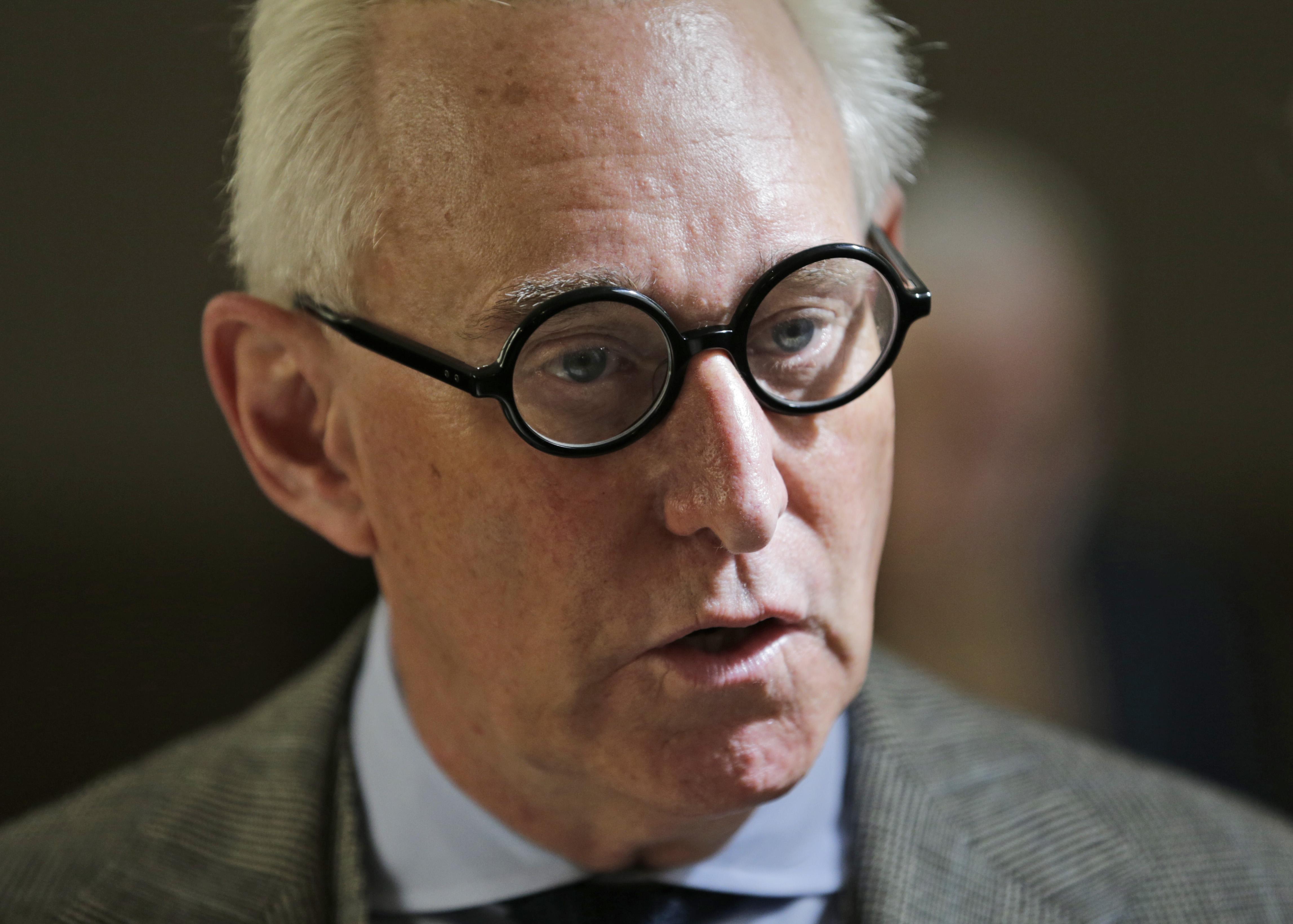 Roger Stone denounces the late John McCain as treasonous, 'epically corrupt'