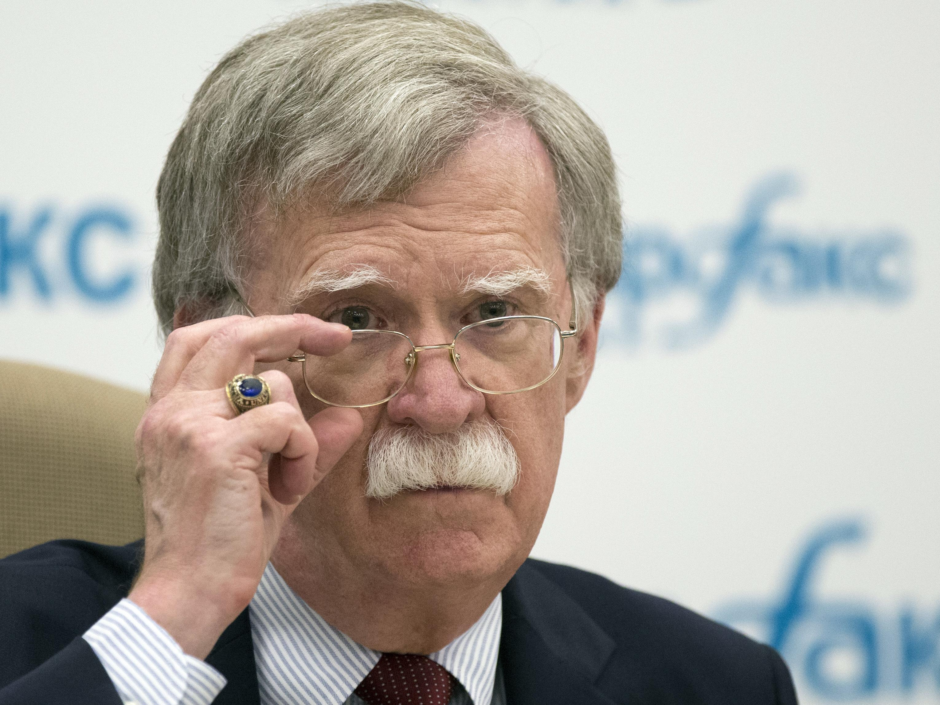 Trump on John Bolton: 'If it was up to him, he'd take on the whole world at one time'