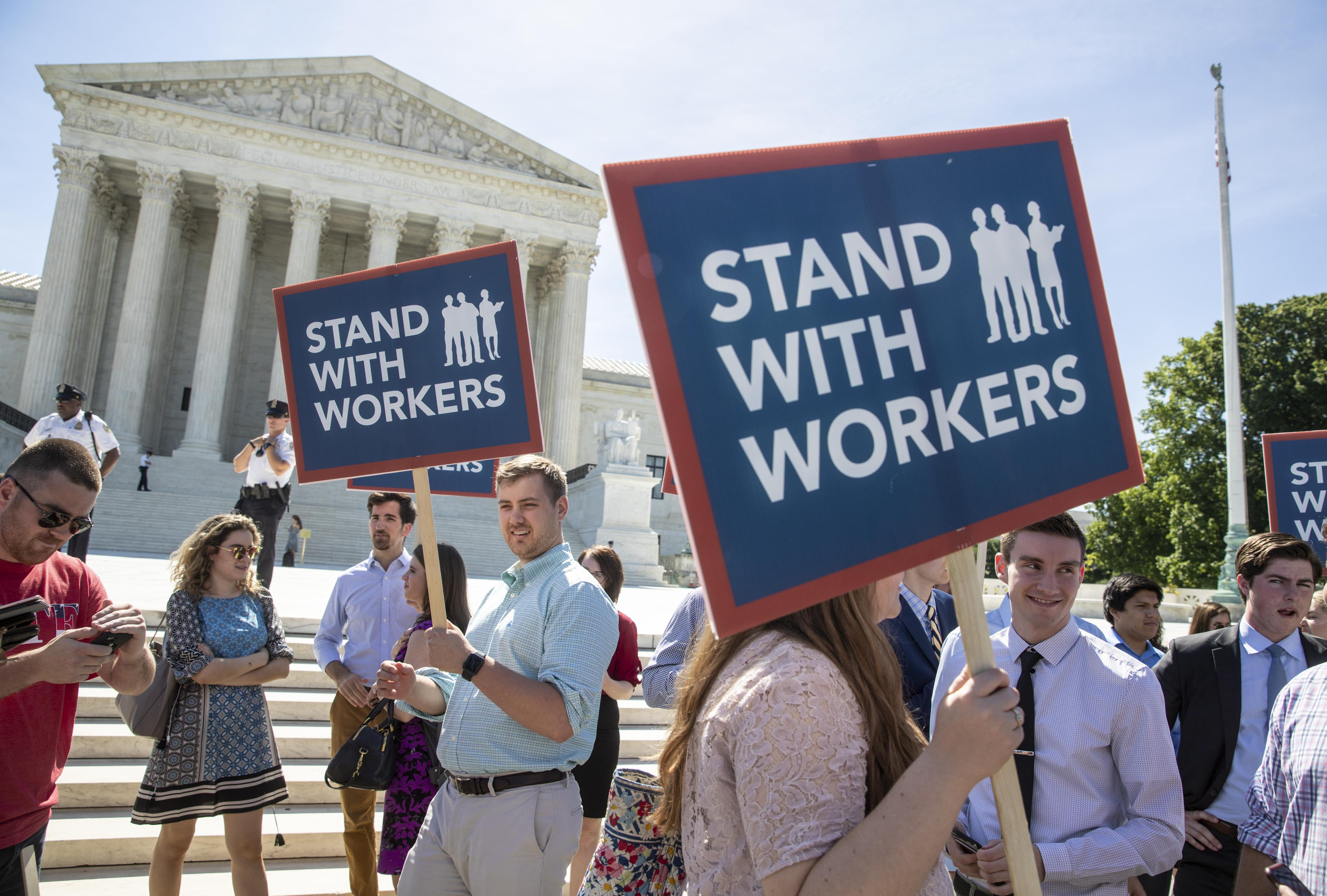 Lawyers use Supreme Court's union ruling to challenge state bar dues on political grounds