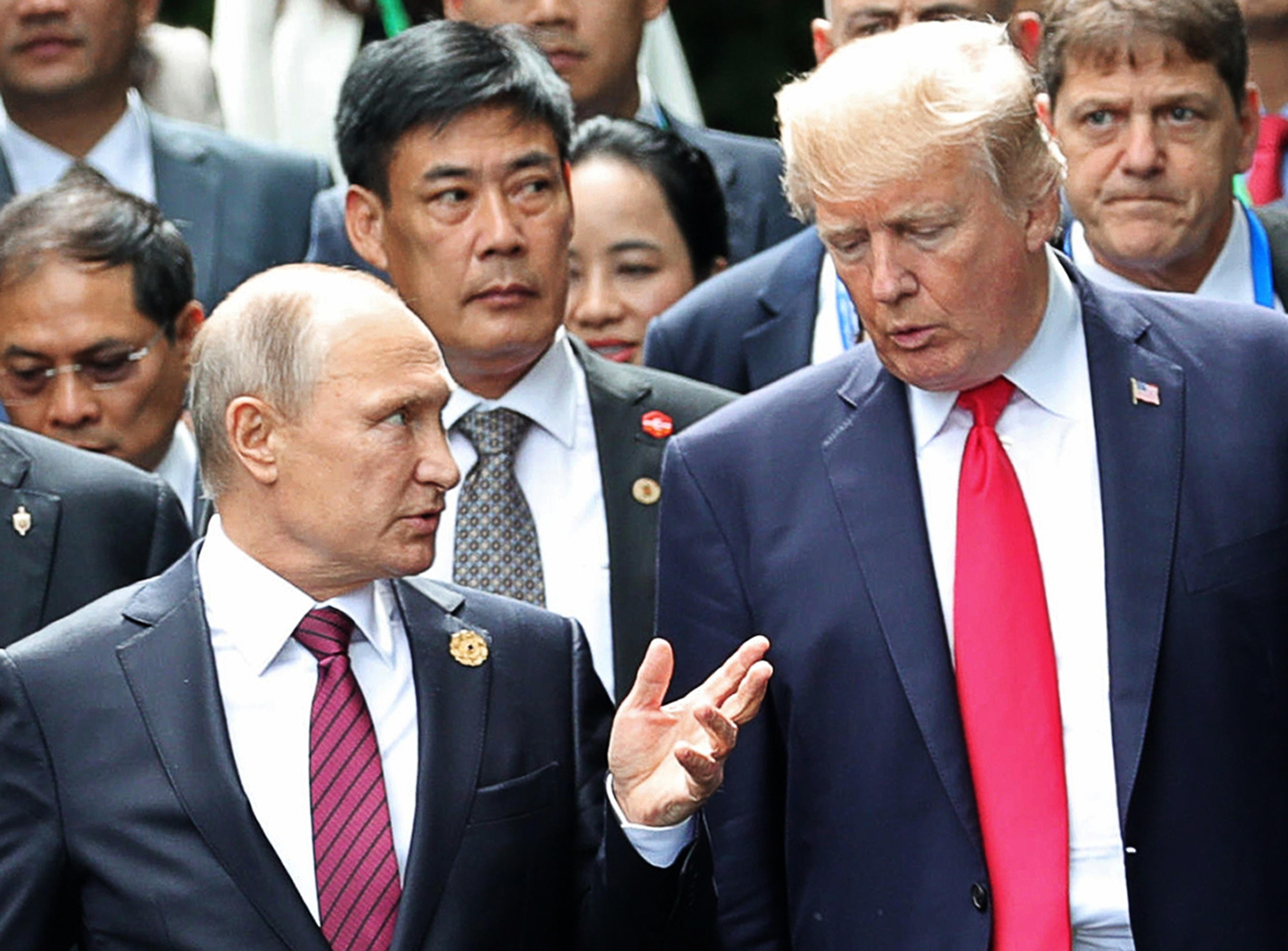Trump Wish For Warm Putin Ties Highlights Policy Disconnect