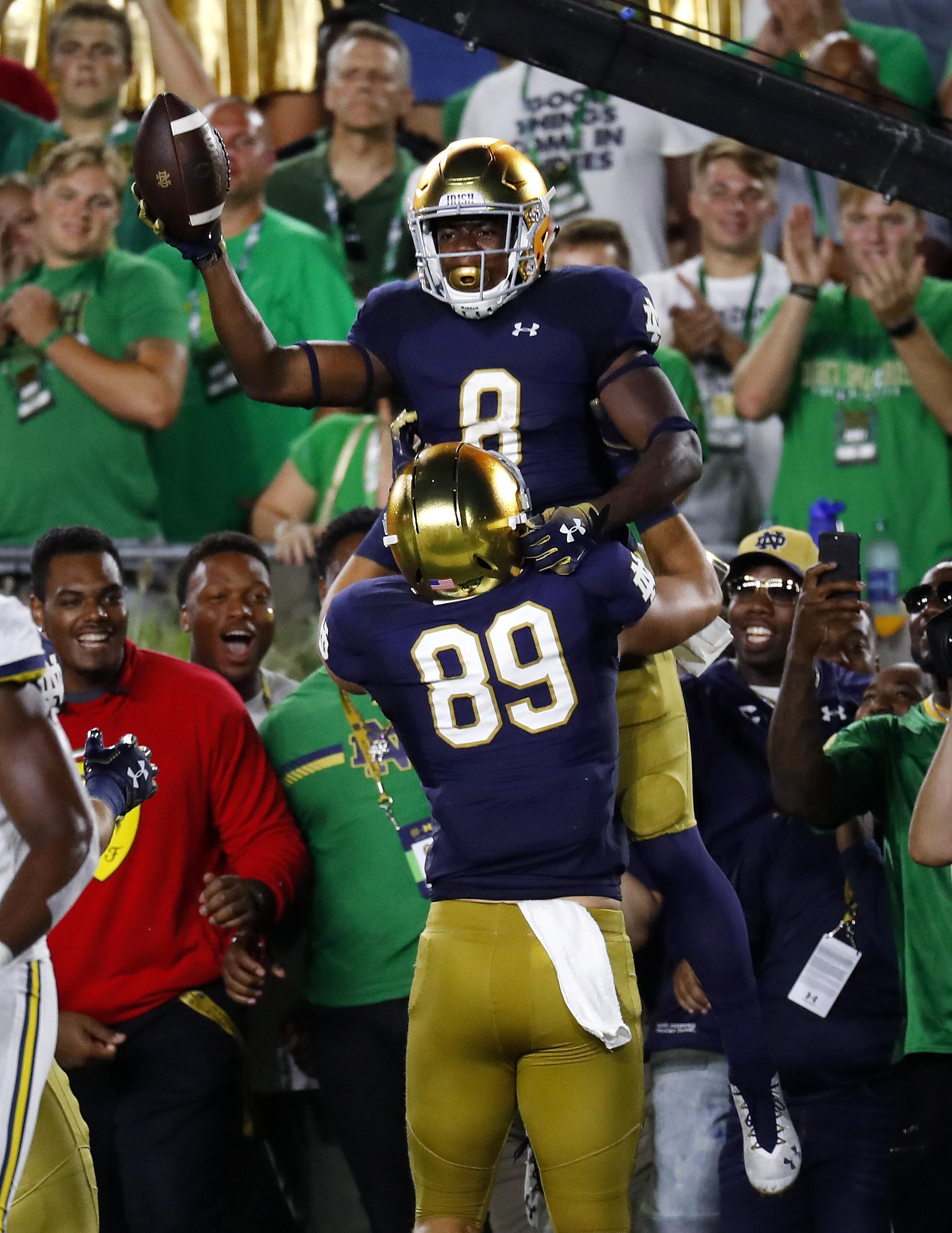 new product 70ac2 472b3 Americas Got Talent, Notre Dame football top ratings - Washington Times