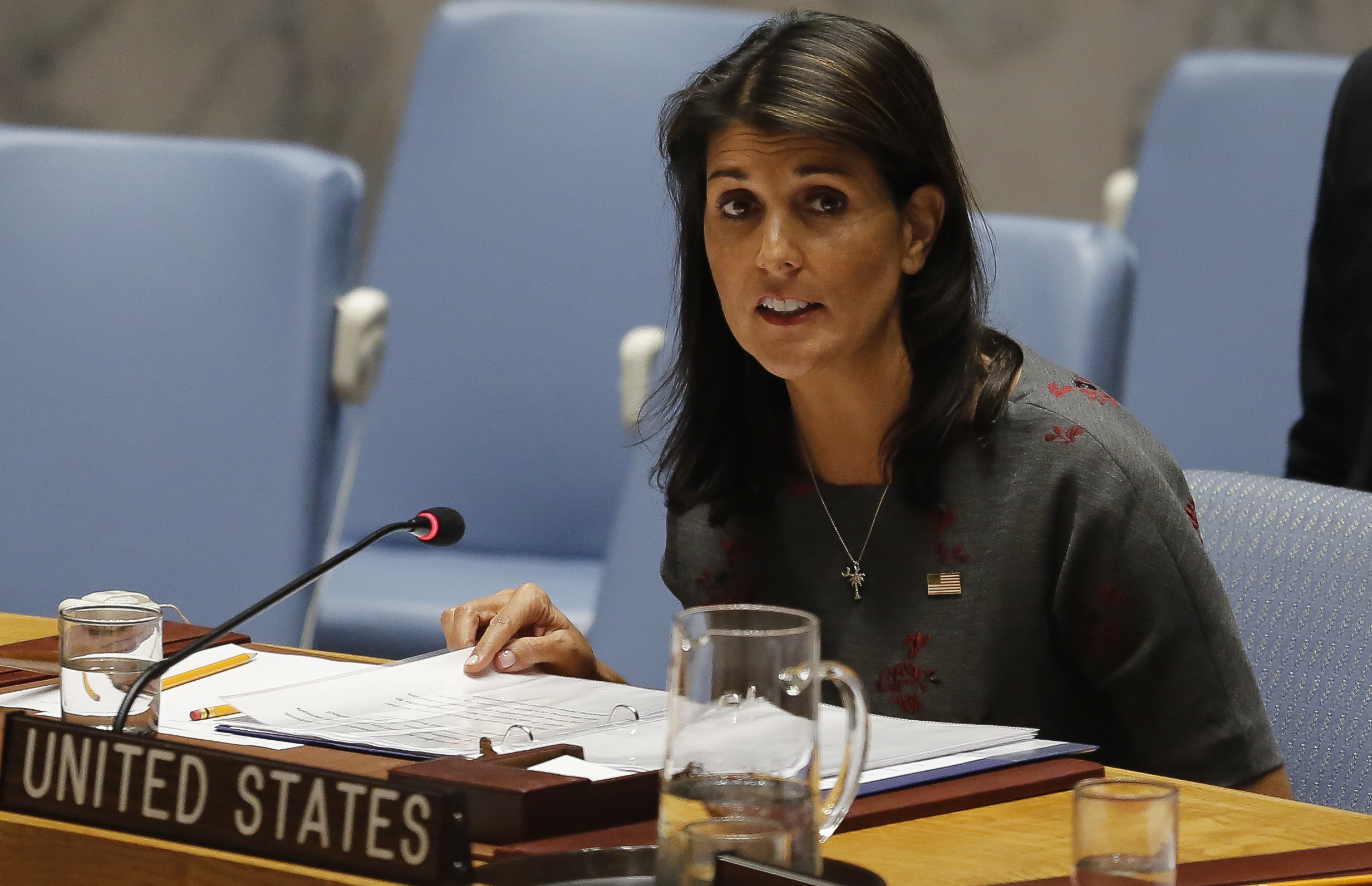 Watch New York Times Nikki Haley curtains story revised video