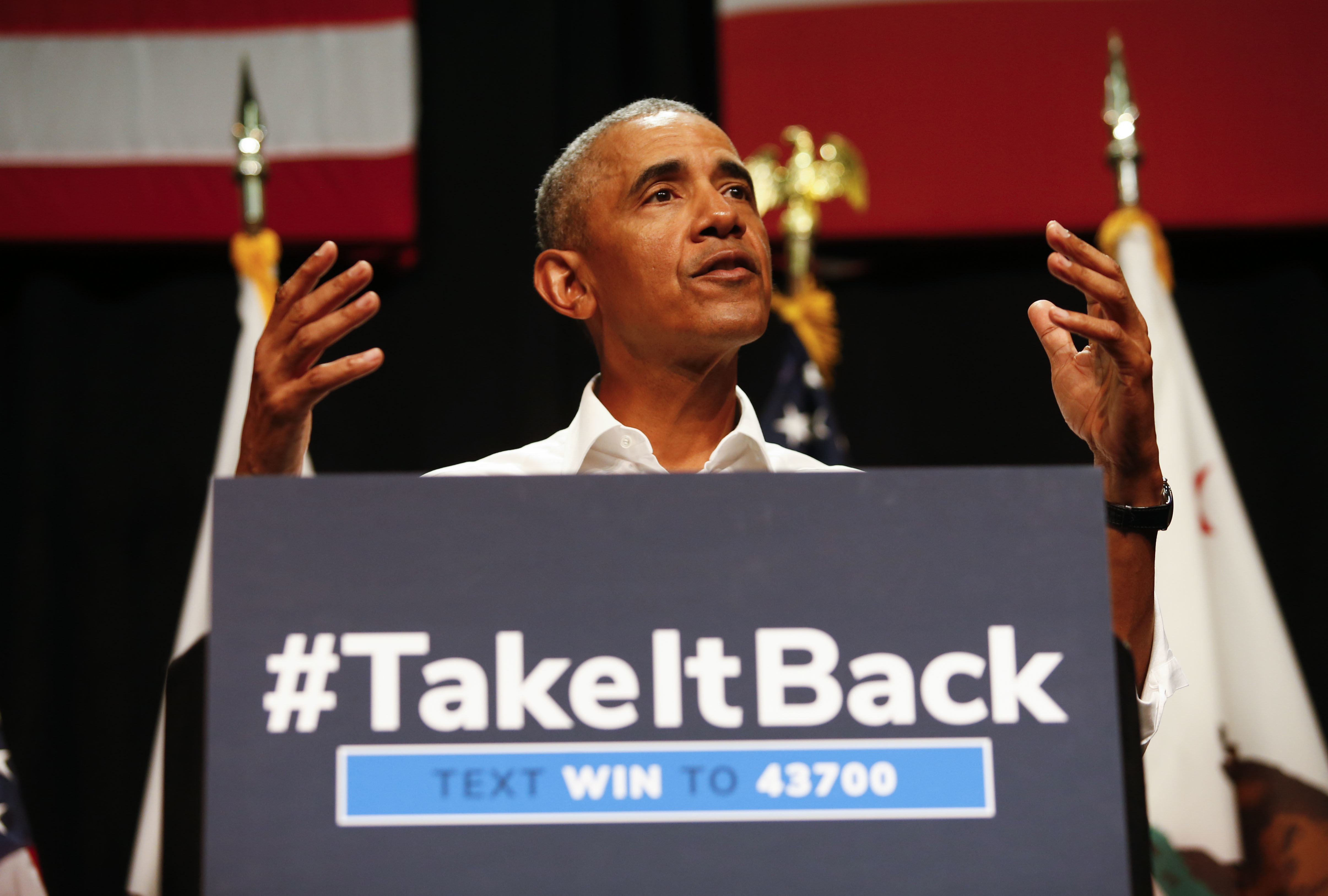 Obama reminds voters why they backed Trump - Washington Times
