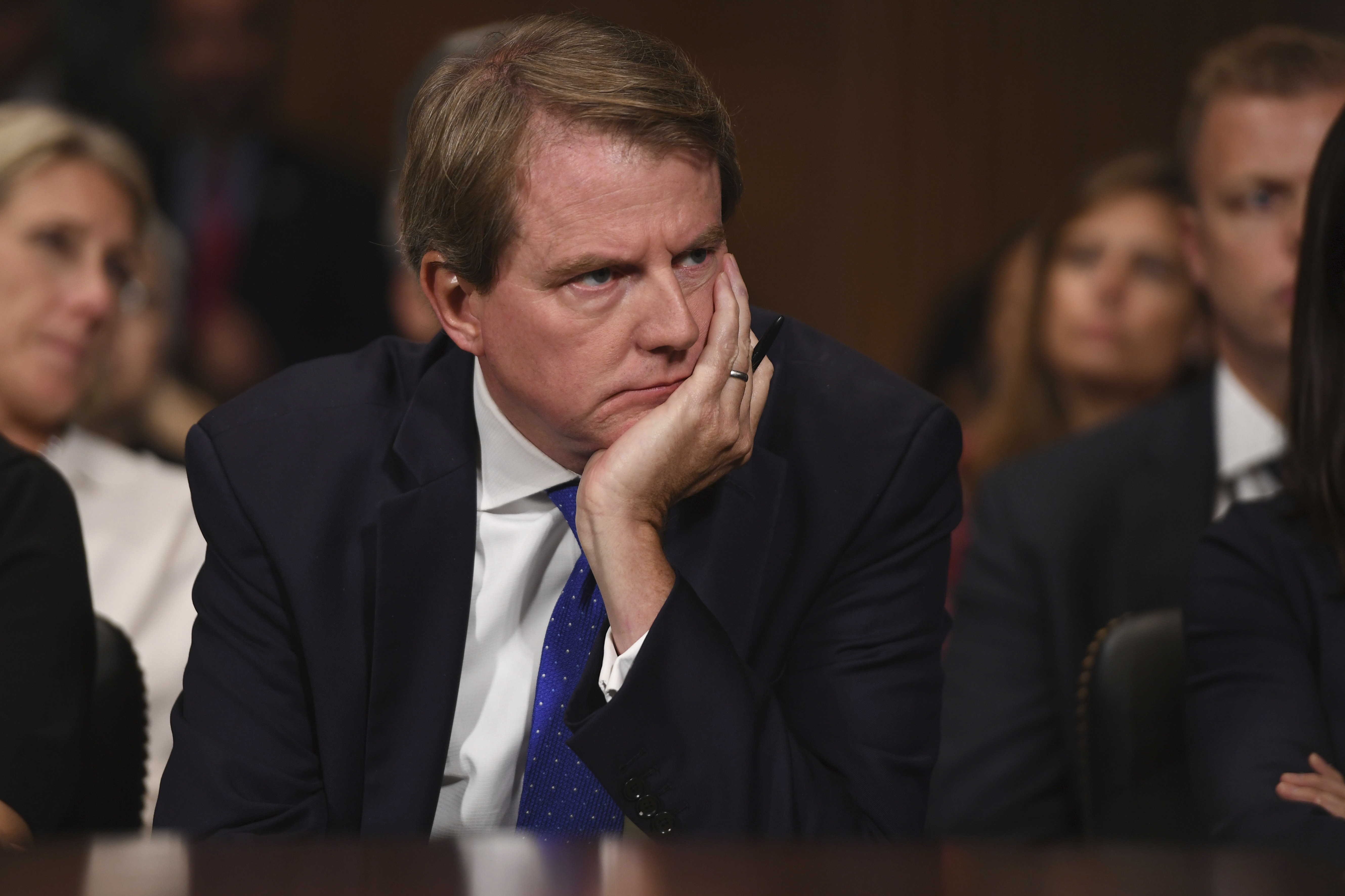 Former White House counsel McGahn chose to resign rather than fire Mueller