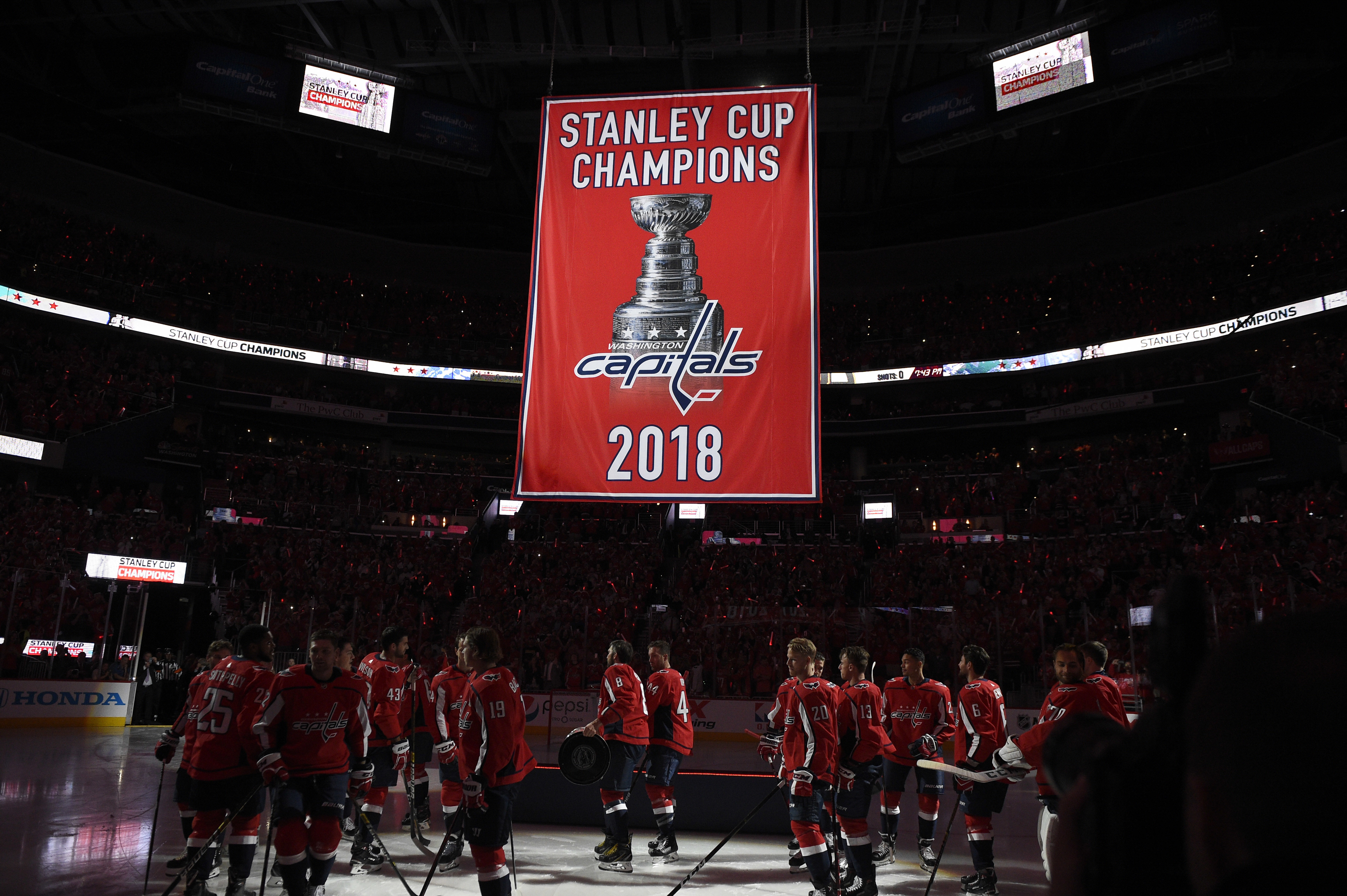 Capitals raise Stanley Cup banner to kick off new season - Washington Times 90a5e248f76