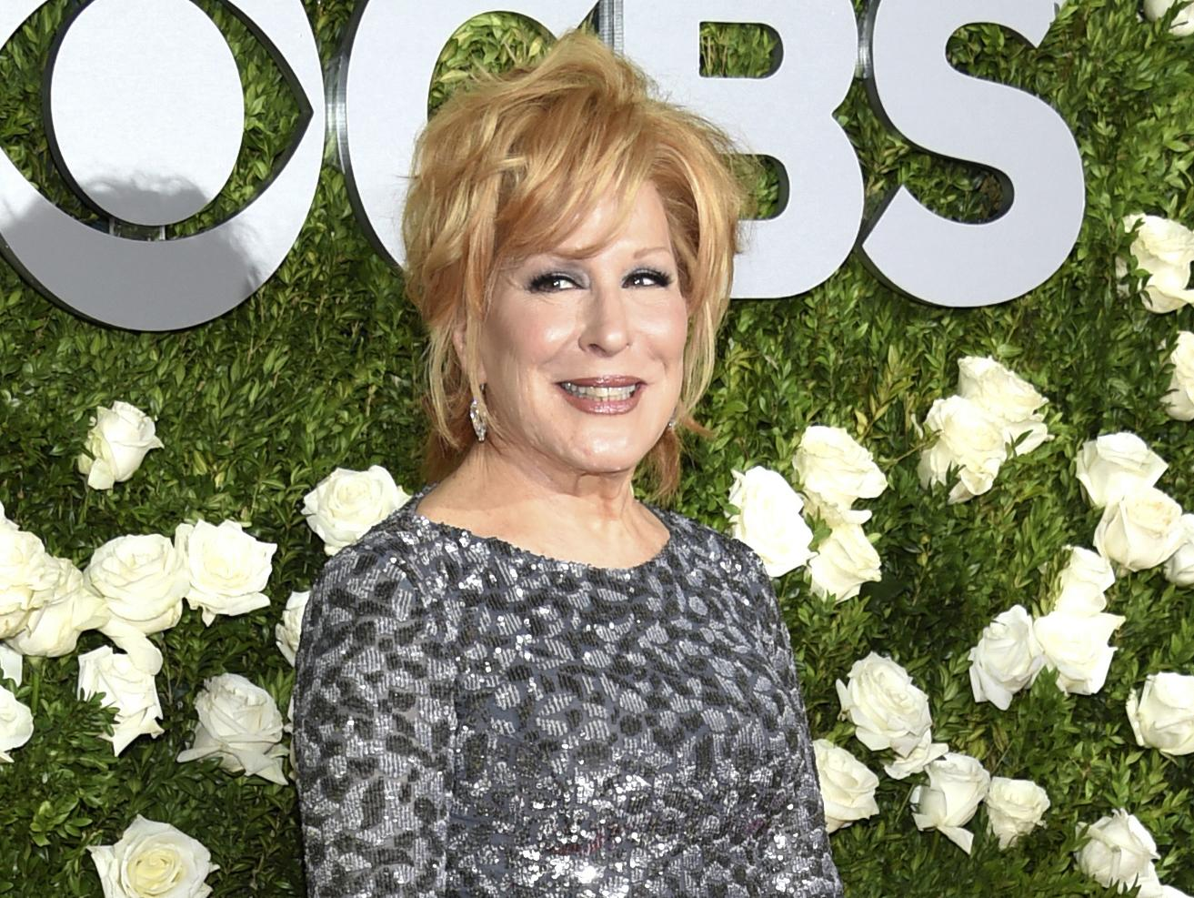 Bette Midler suggests black Trump supporters were paid to be 'blackground' at rally