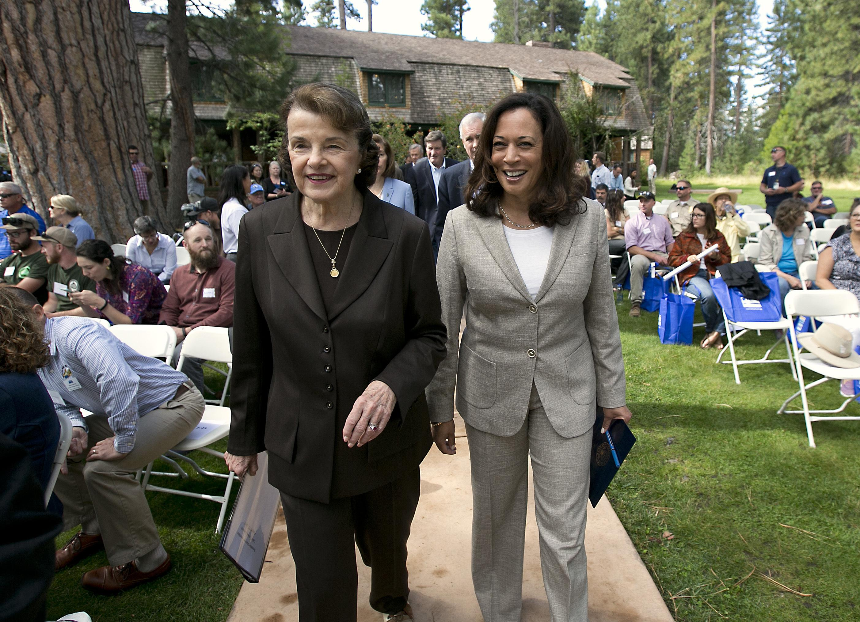 dianne feinstein and kamala harris push white house for deal on judicial nominees washington times dianne feinstein and kamala harris push