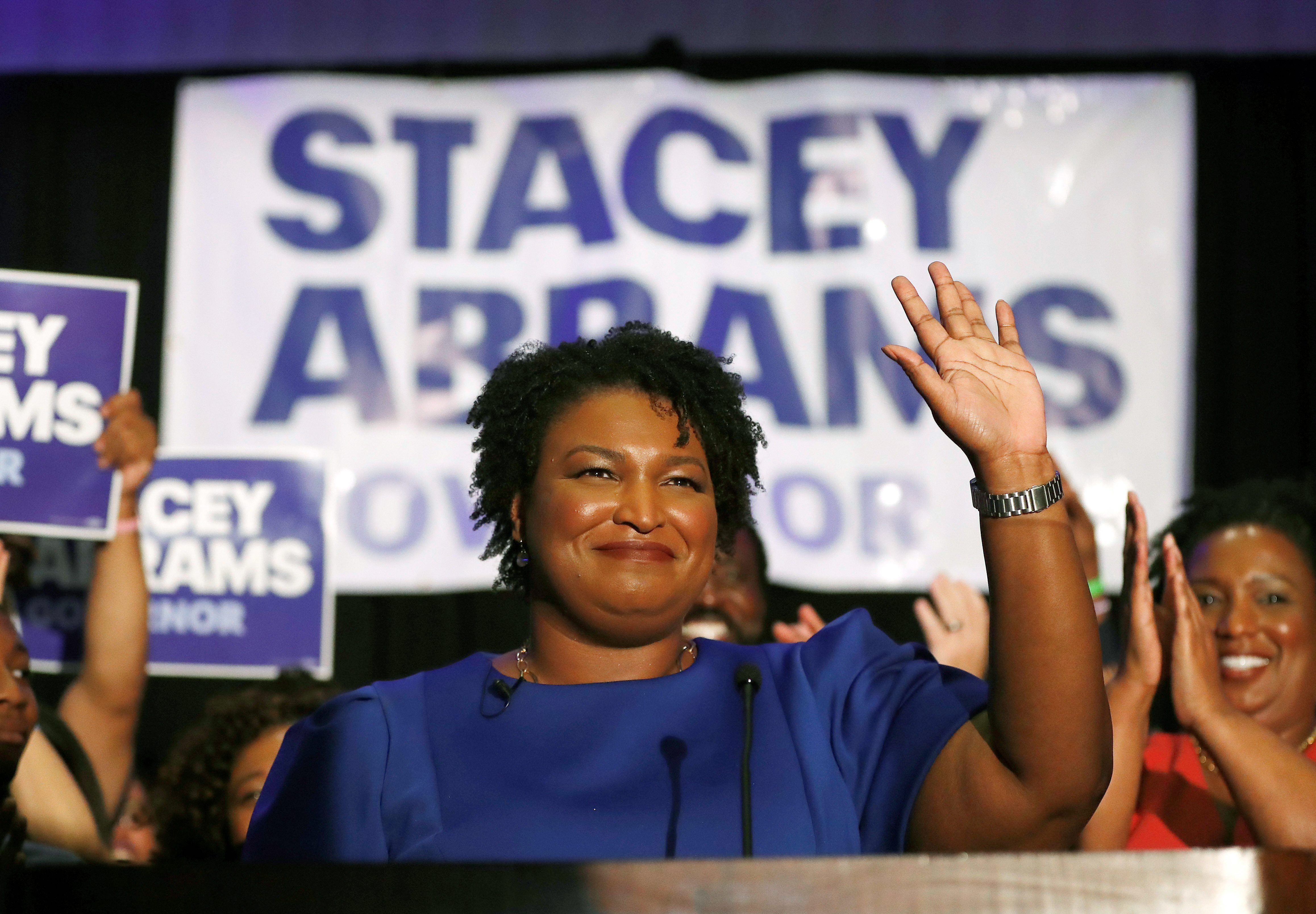 Trump: Stacey Abrams will get rid of the Second Amendment if elected picture