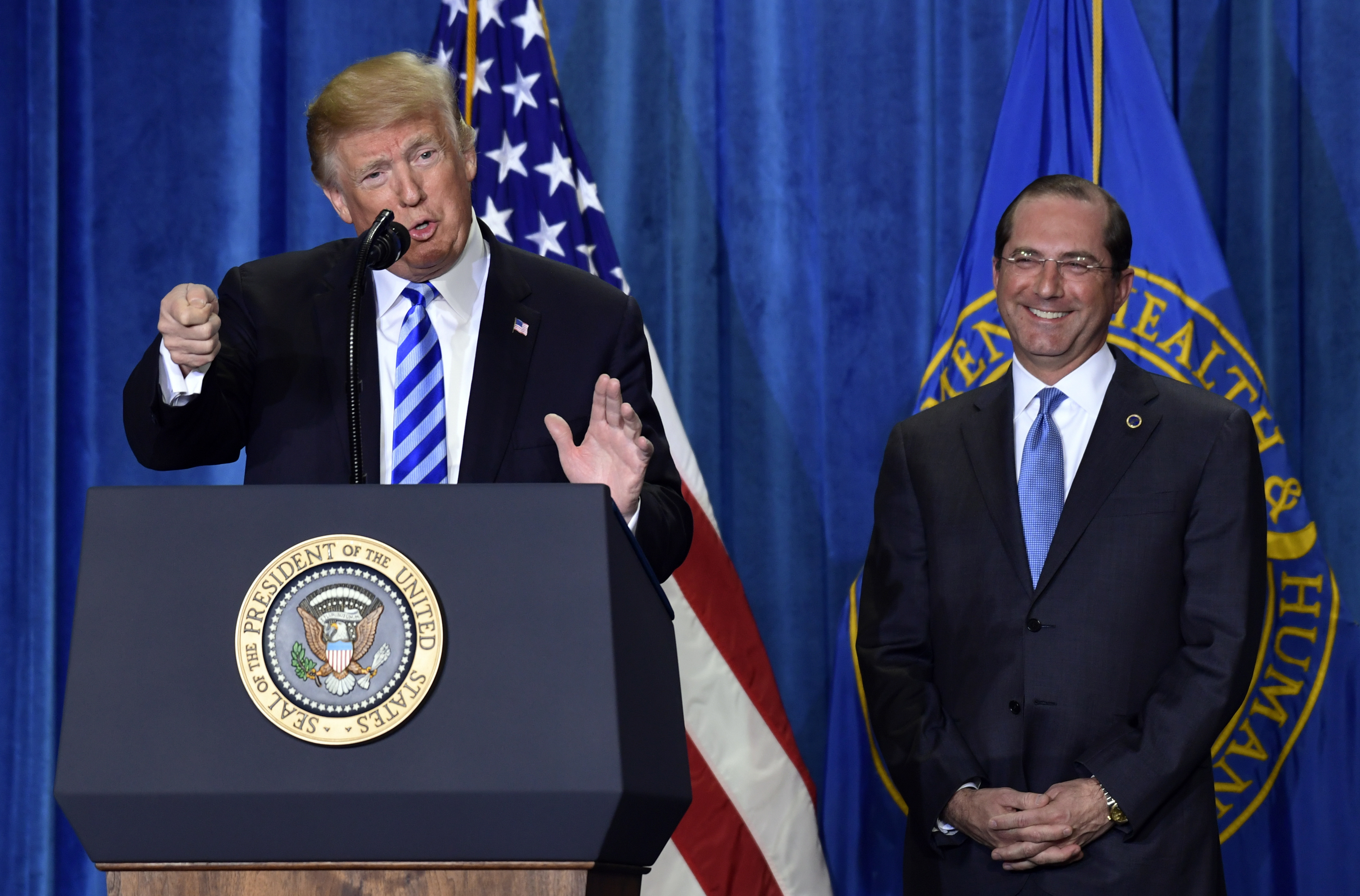 Alex Azar Hhs Secretary Donald Trump S Moves Are Ultimate Nightmare For Big Pharma Washington Times
