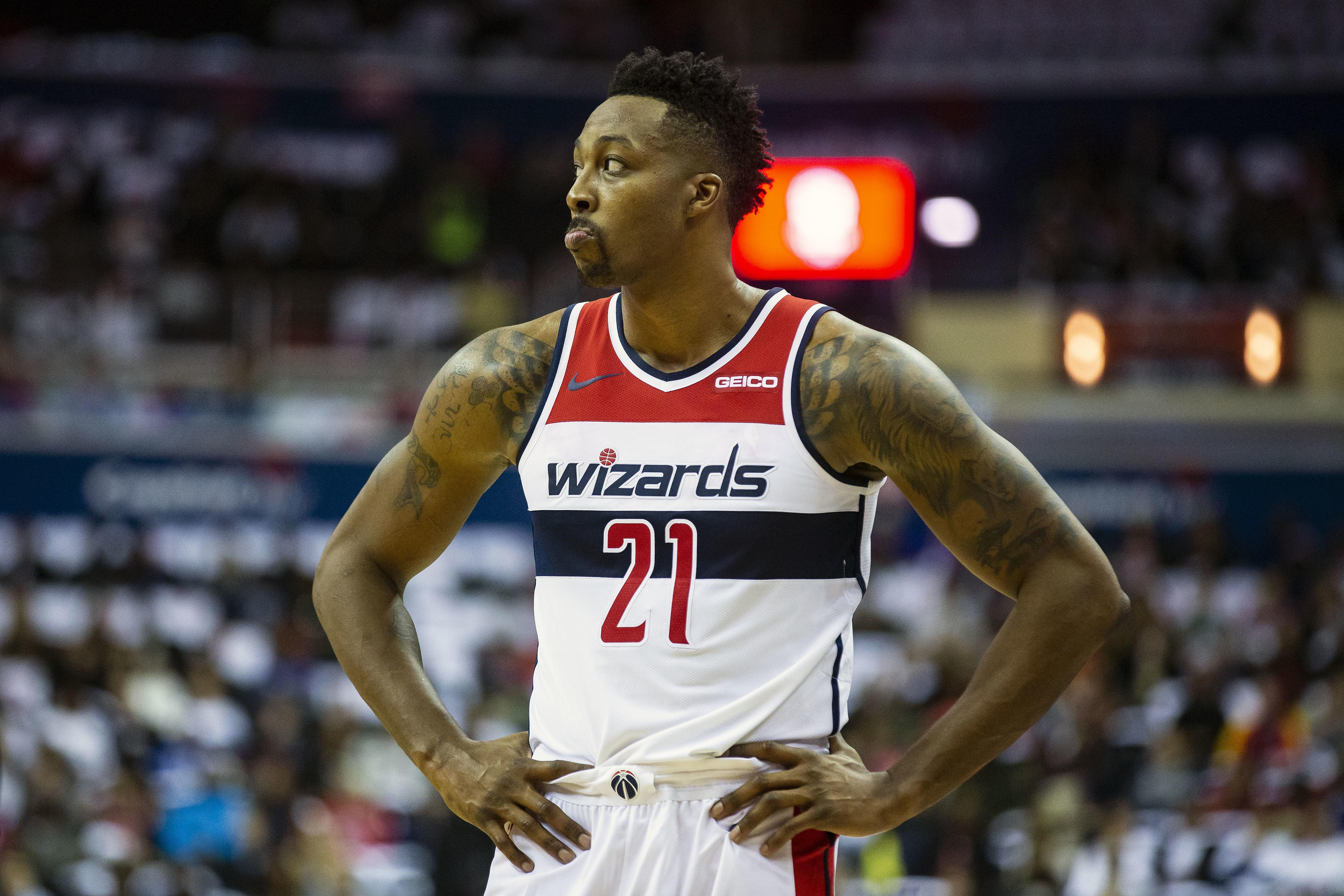 quality design 1ce74 57193 Wizards trade Dwight Howard to Grizzlies, acquire CJ Miles ...