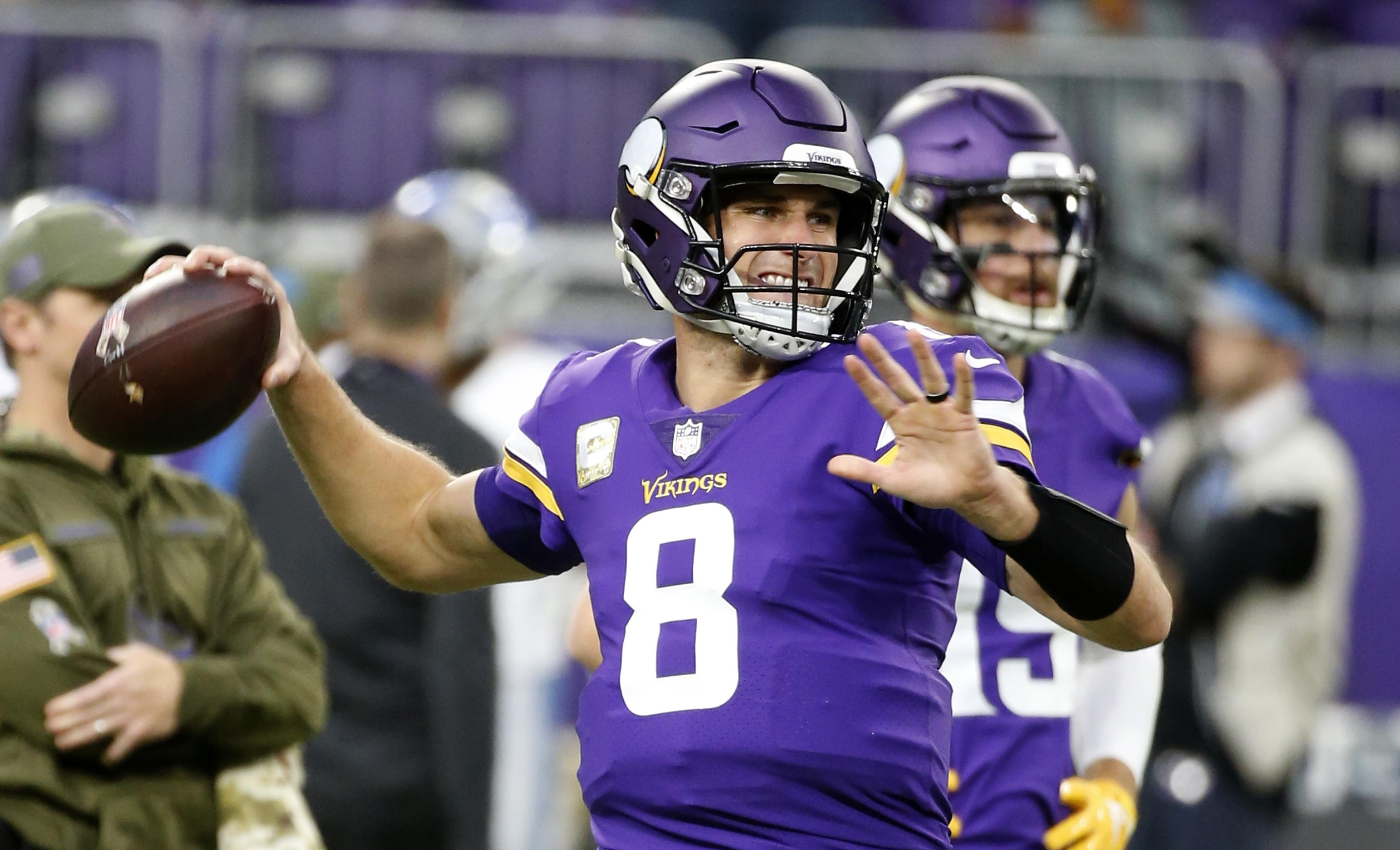 buy online 36403 87f29 Kirk Cousins, Joe Flacco and more NFL players thank vets on ...