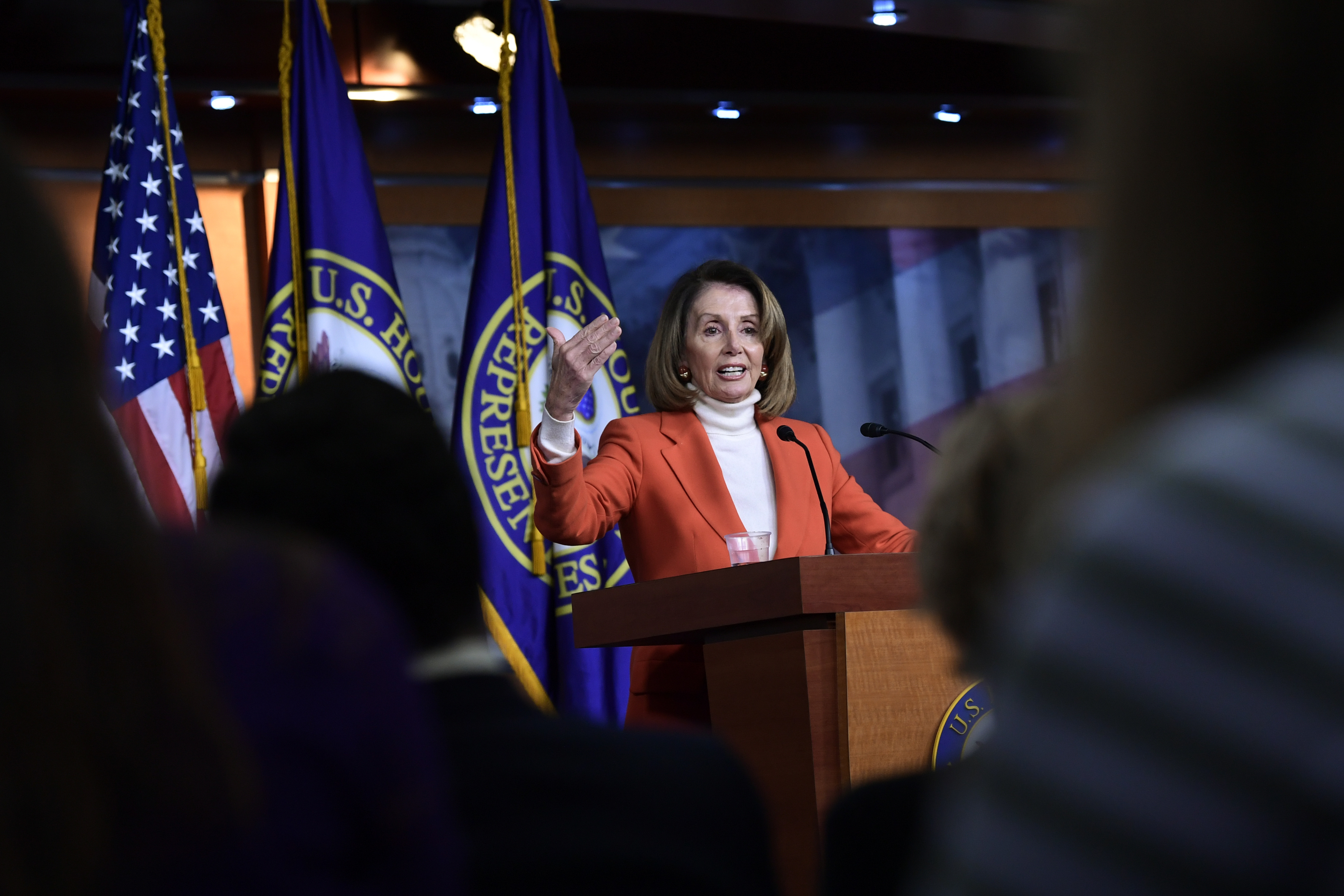 Nancy Pelosi celebrates House win, promises bipartisanship forecasting