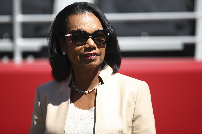 Condoleezza Rice criticizes Trump's 'divisive language': He 'needs to be a lot more careful'