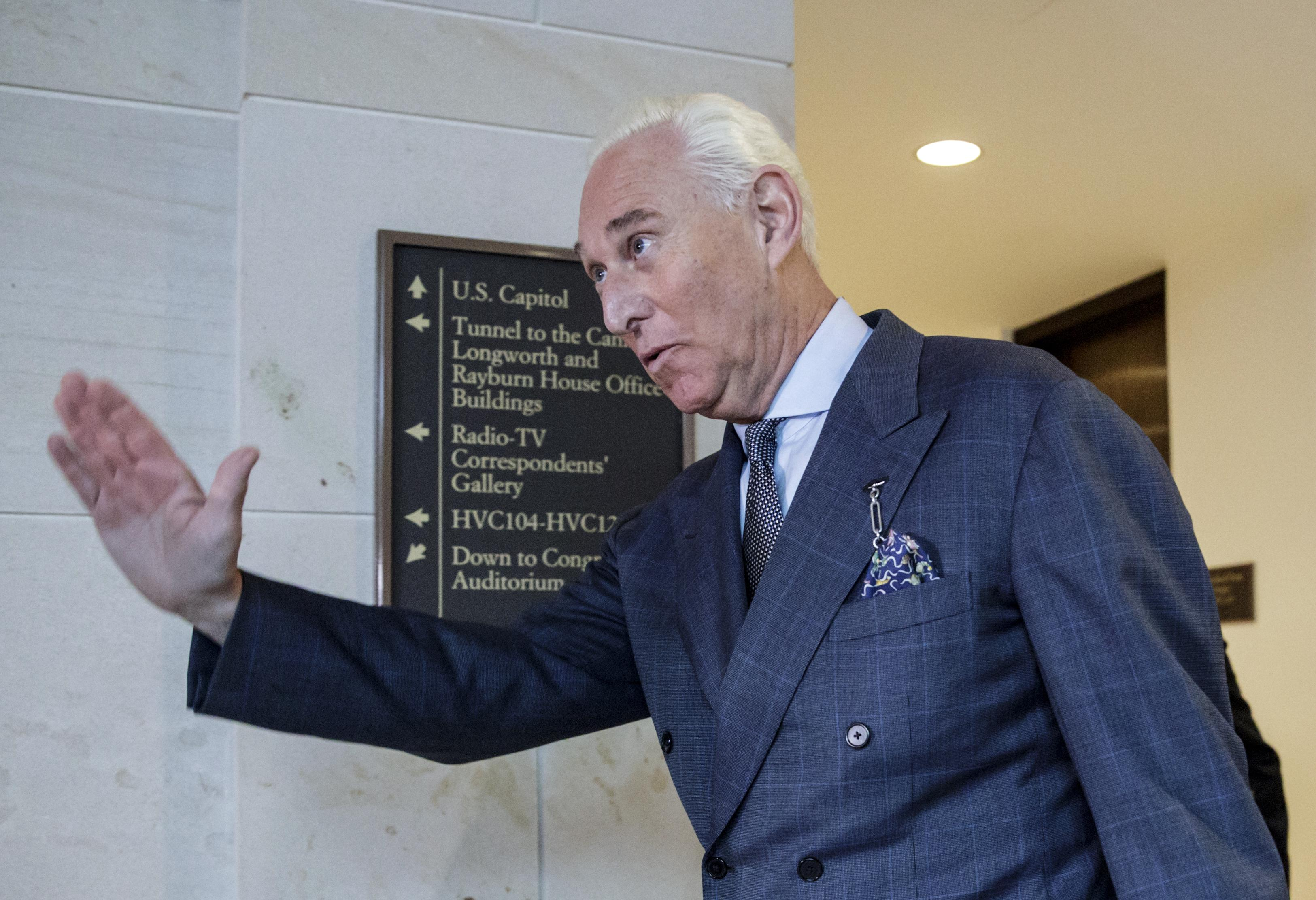 Roger Stone, Jerome Corsi spar in civil suit in Mueller probe aftermath