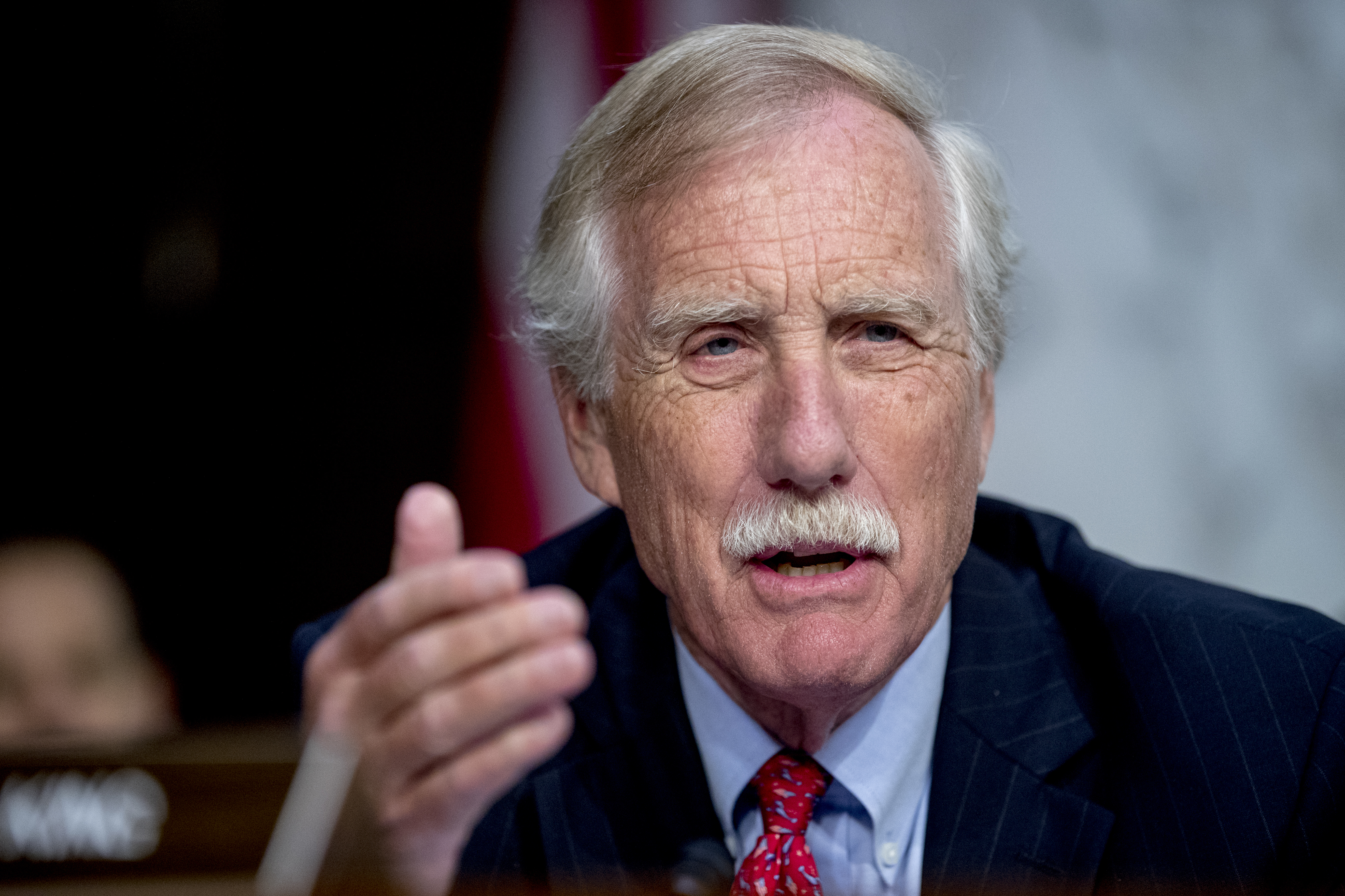 Angus King: There is 'heightened Iranian activity,' but Trump needs to 'express a little restraint'