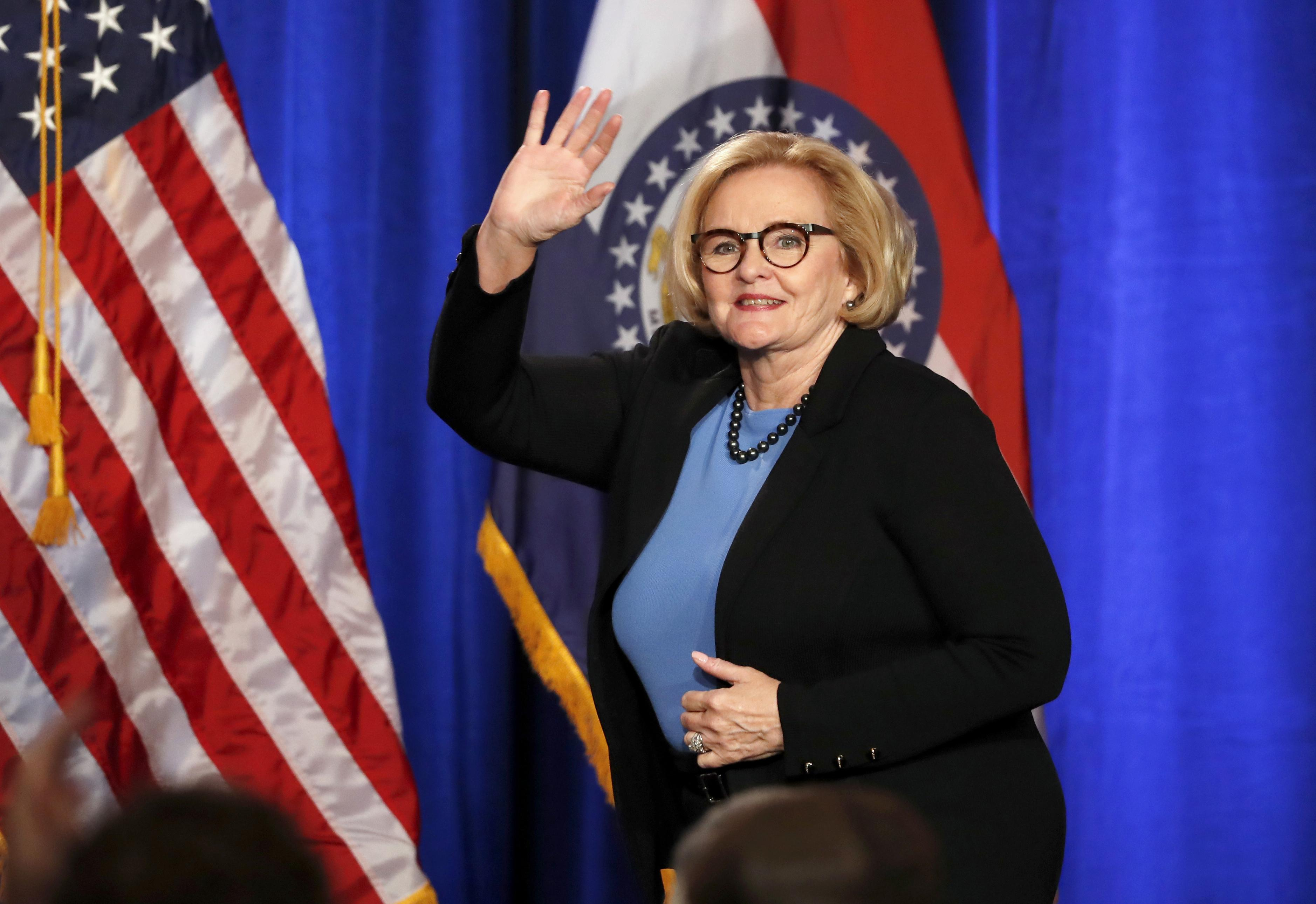 Former Sen. Claire McCaskill says Trump's tweets are unifying the Democratic Party