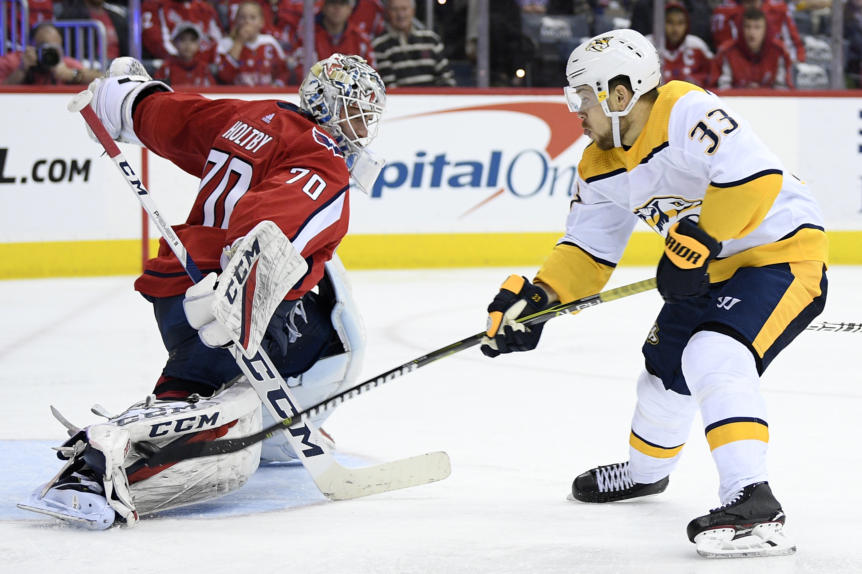 638ac4f308f Predators power past Capitals in early afternoon battle - Washington ...
