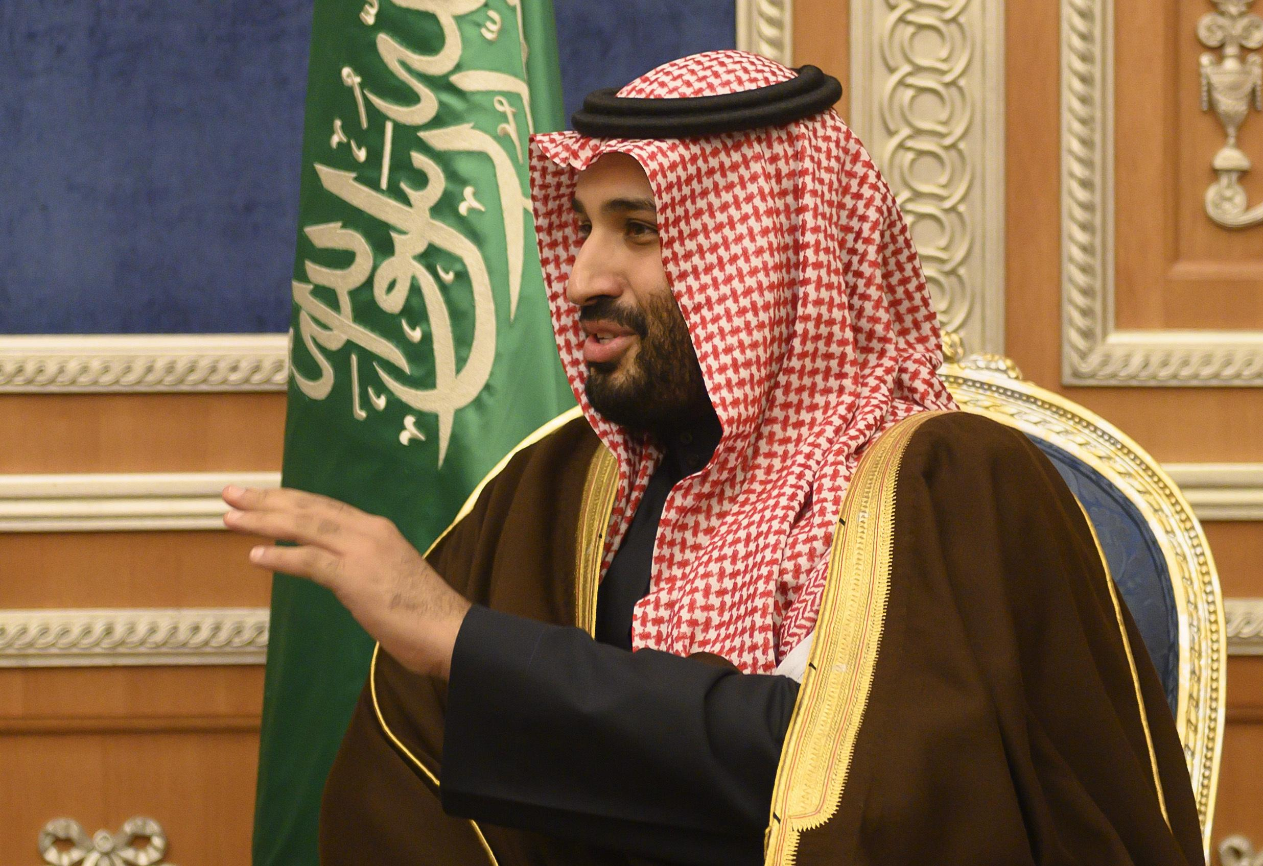 Saudi crown prince holds quiet meeting with head of U.S. Central Command