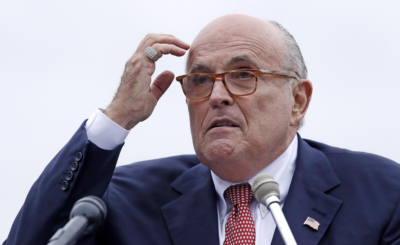 Giuliani refutes rumor Trump banned him from TV appearances