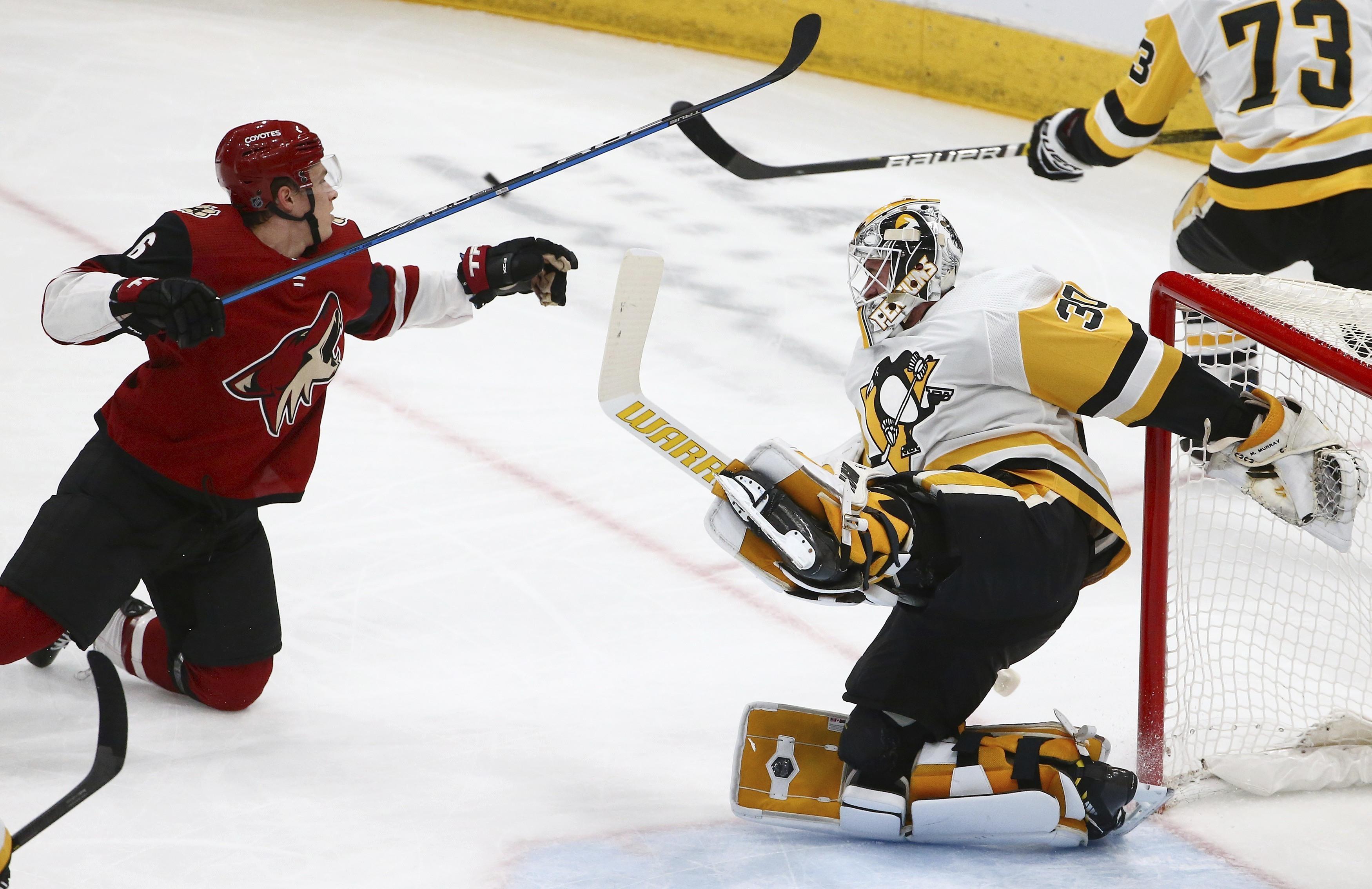 best website 760ed 2084d Kessel scores in overtime, Penguins beat Coyotes 3-2 ...