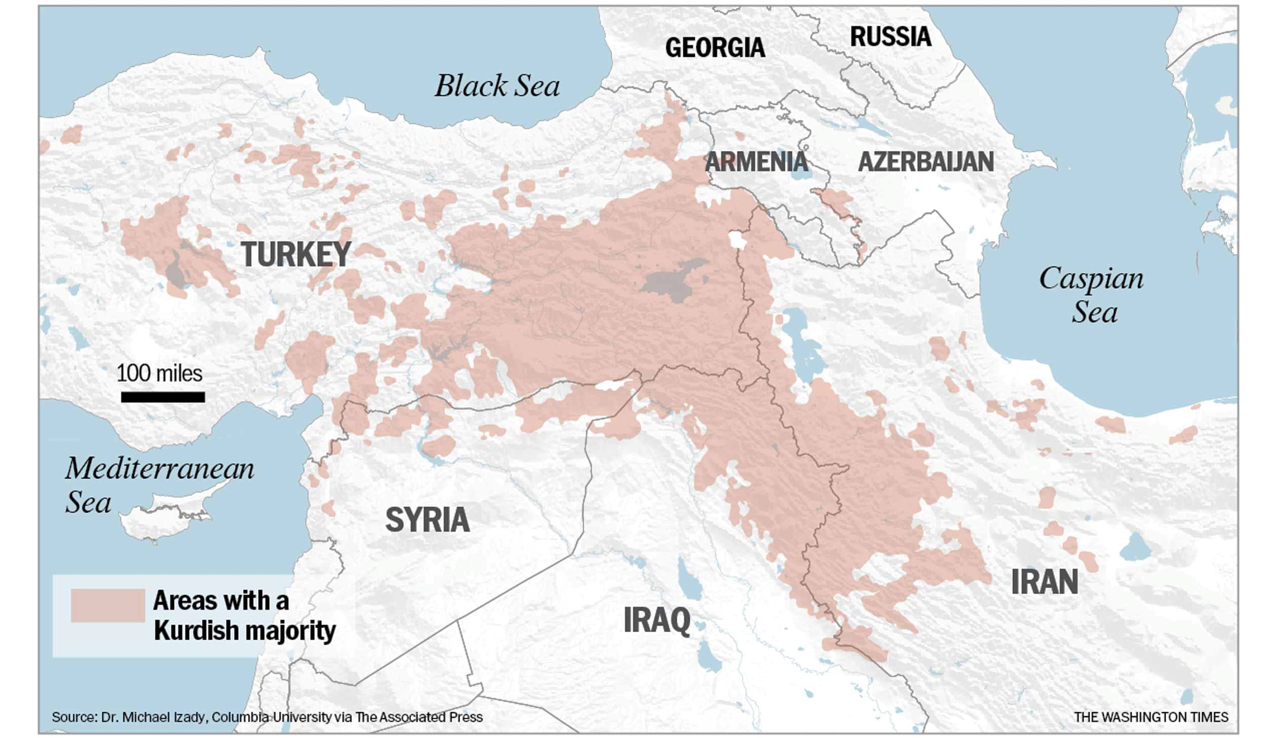 Deciphering confusion about the Kurds - Washington Times