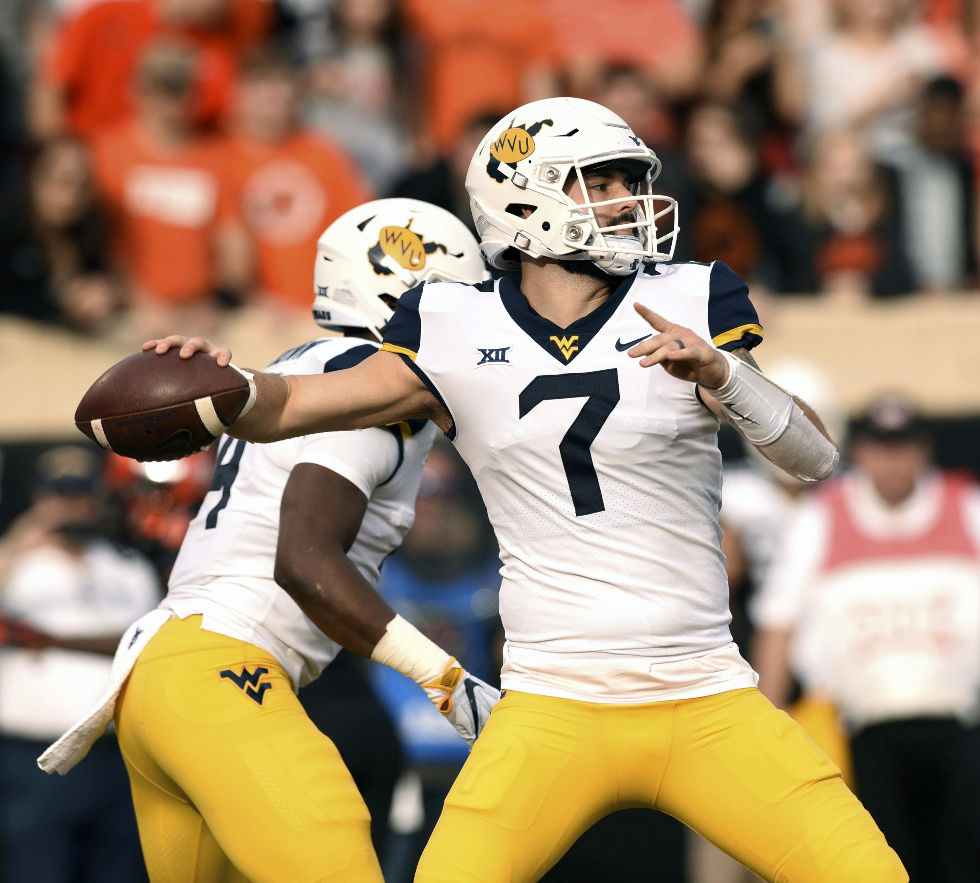 West Virginia quarterback Will Grier meets with Redskins over sushi: report