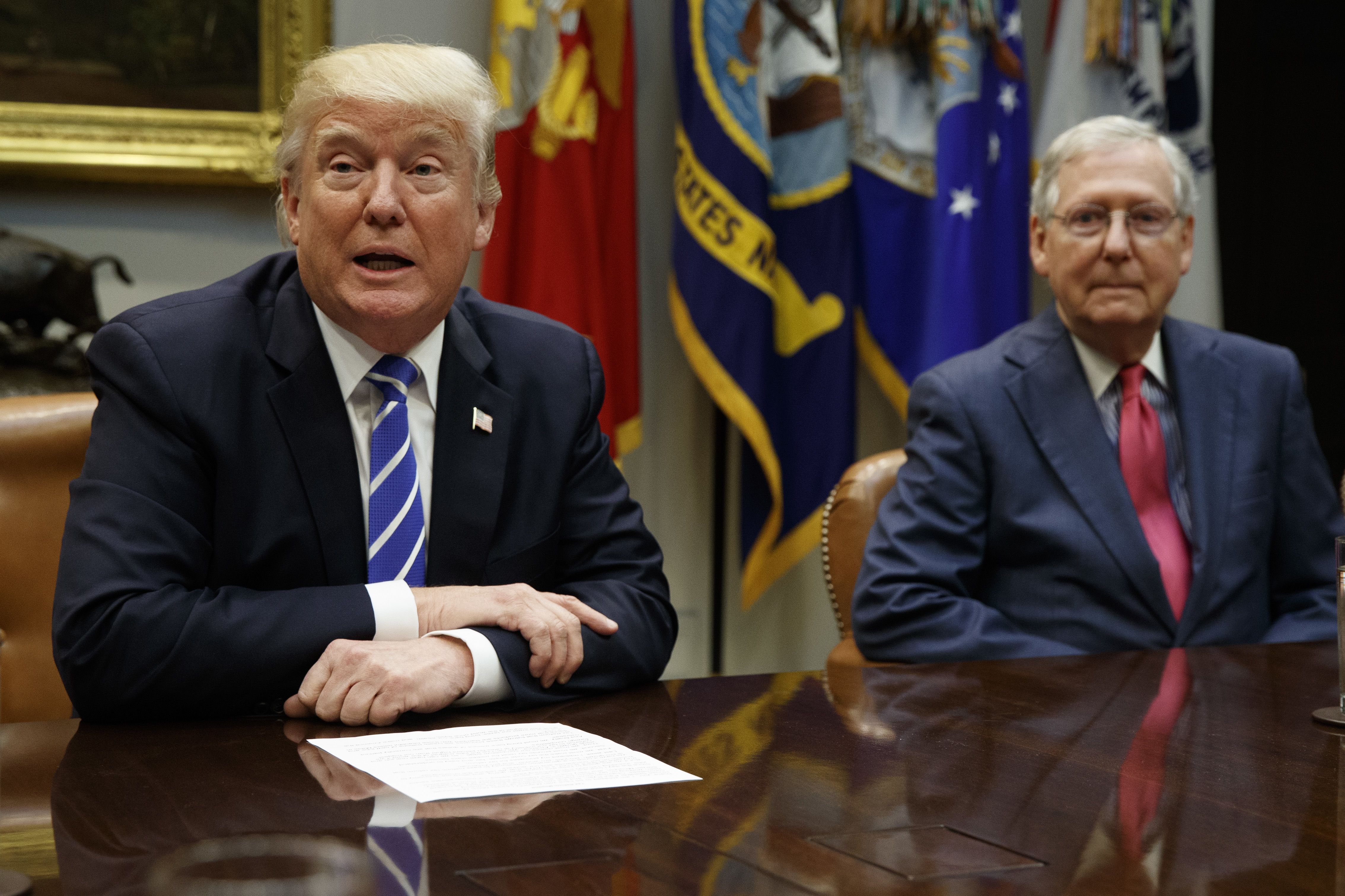 Trump, McConnell raise funds with 'Back to Back Supreme Court Champs' T-shirt