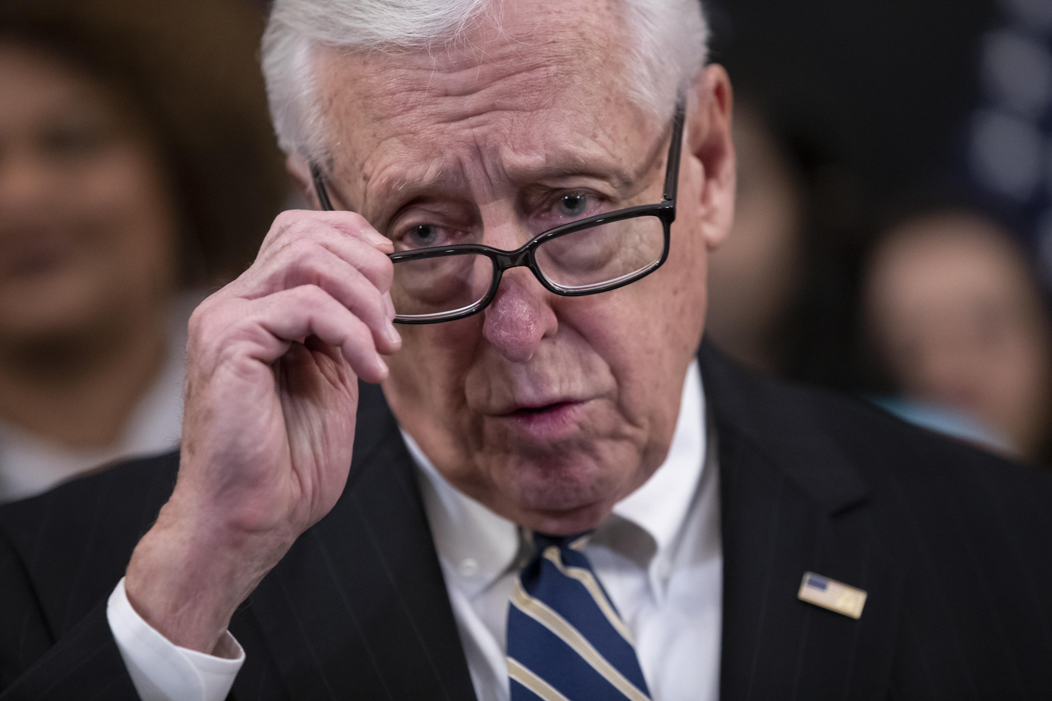 Hoyer hesitant to use 'inherent contempt' to arrest Trump admin officials