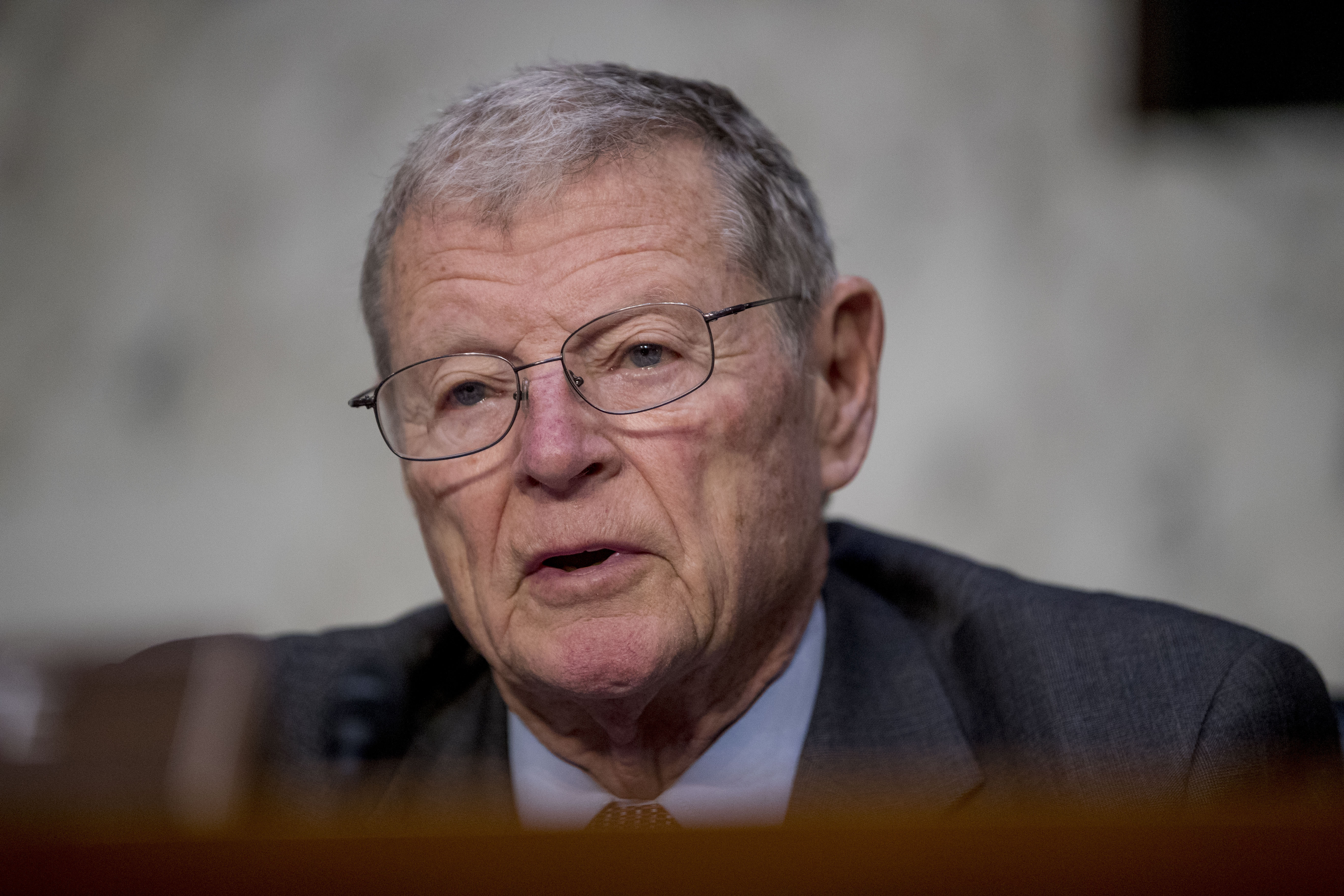 Inhofe 'shocked' by Democratic request to delay defense bill for presidential debates