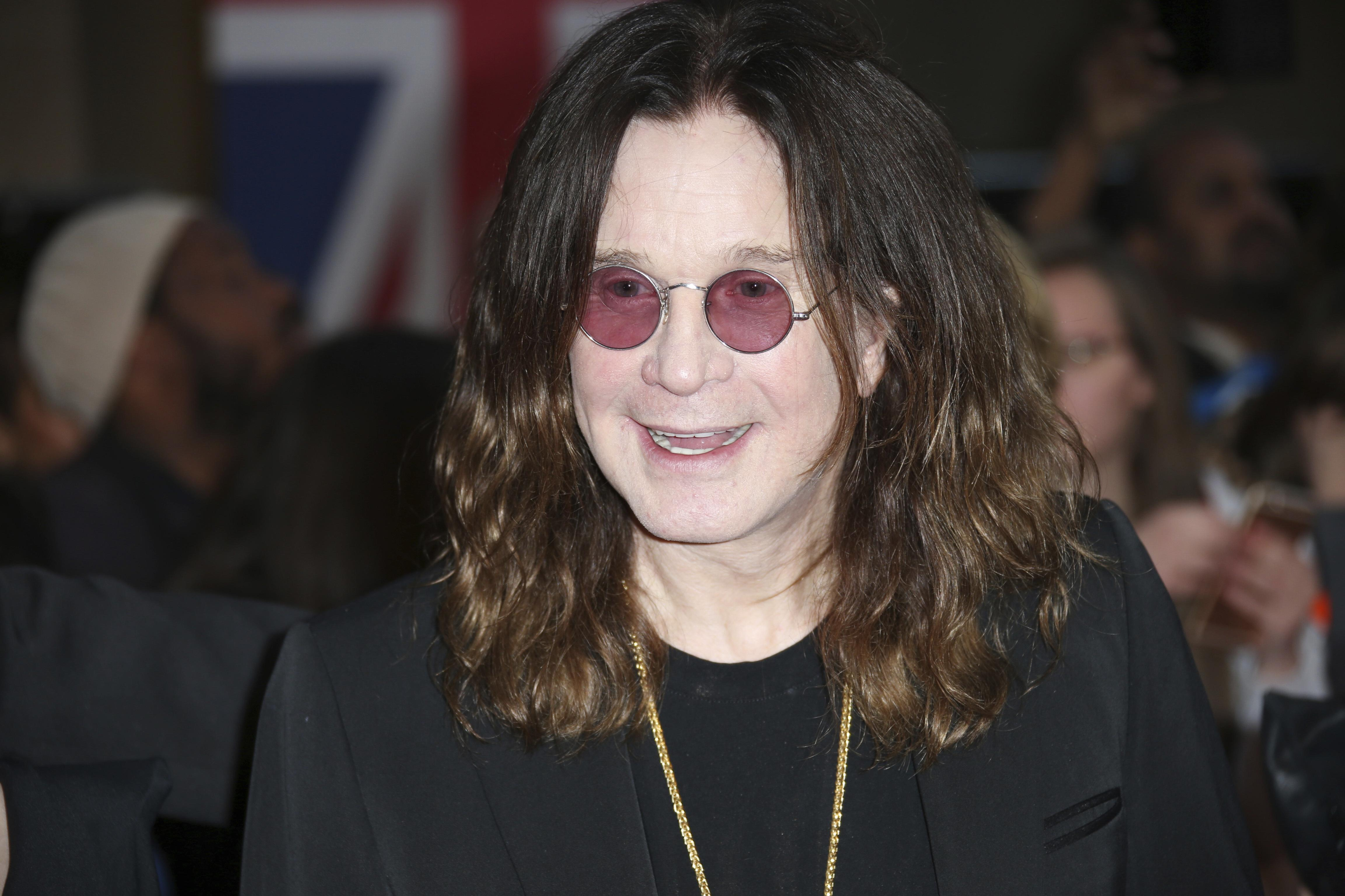 Ozzy Osbourne recovering slowly from injury that postponed world tour