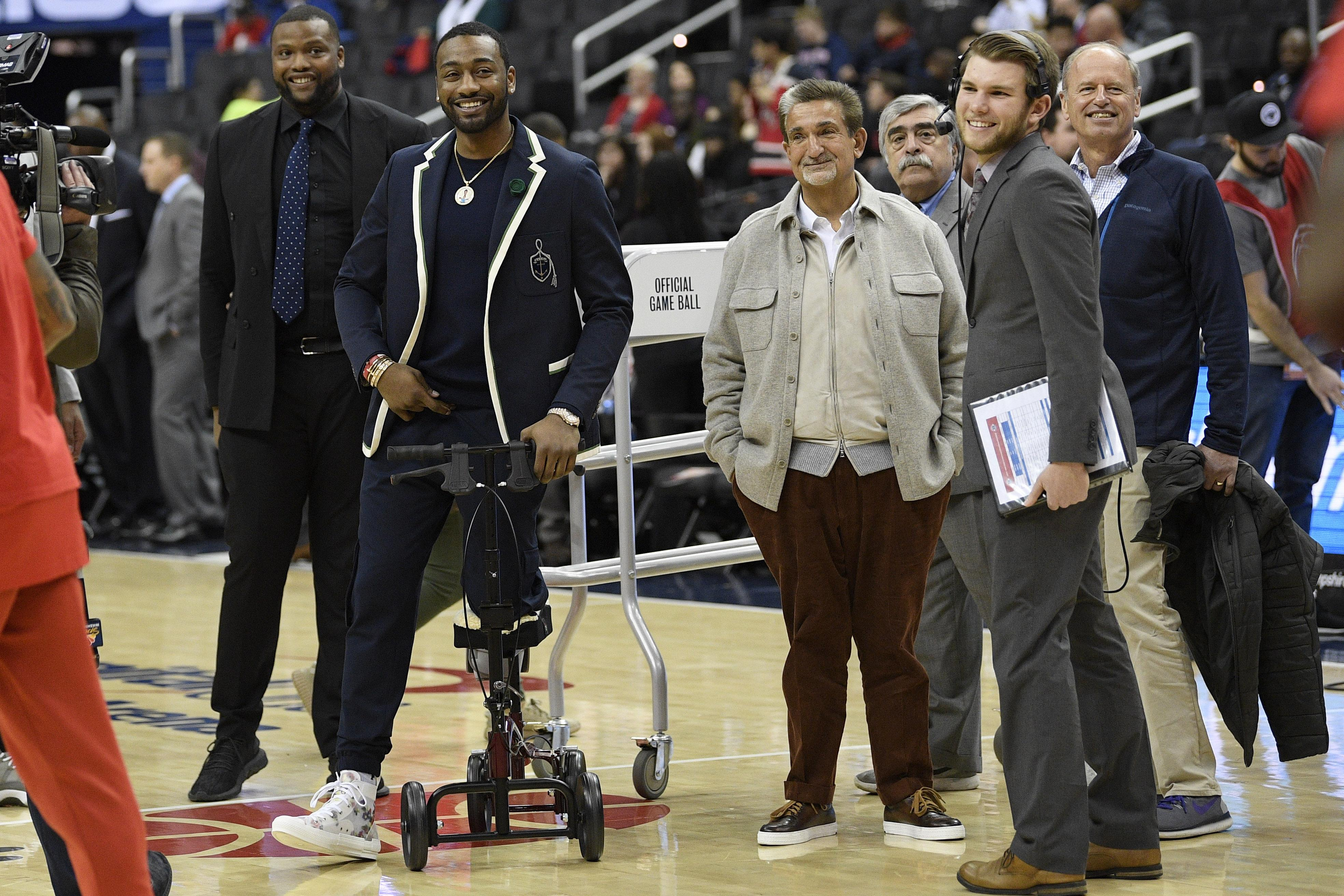 Wizards enter NBA draft with uncertainty on roster, in front office