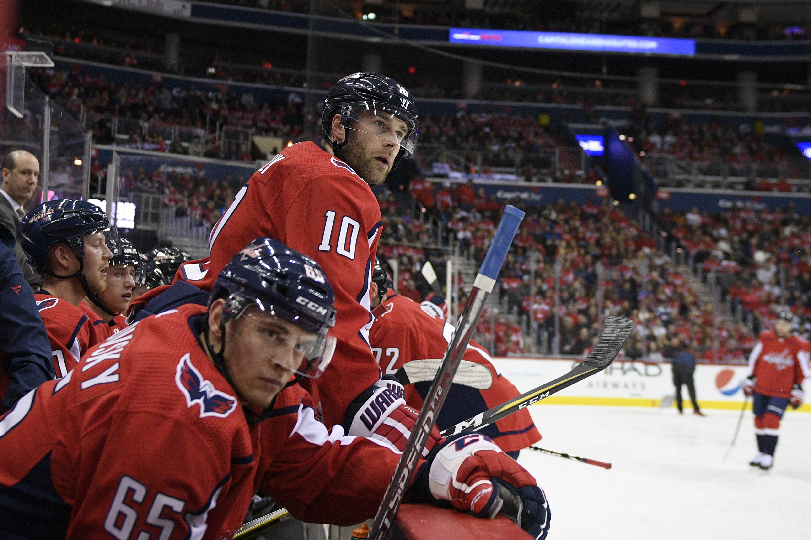 26f32216bae Capitals begin long road trip looking like last year's Stanley Cup team - Washington  Times