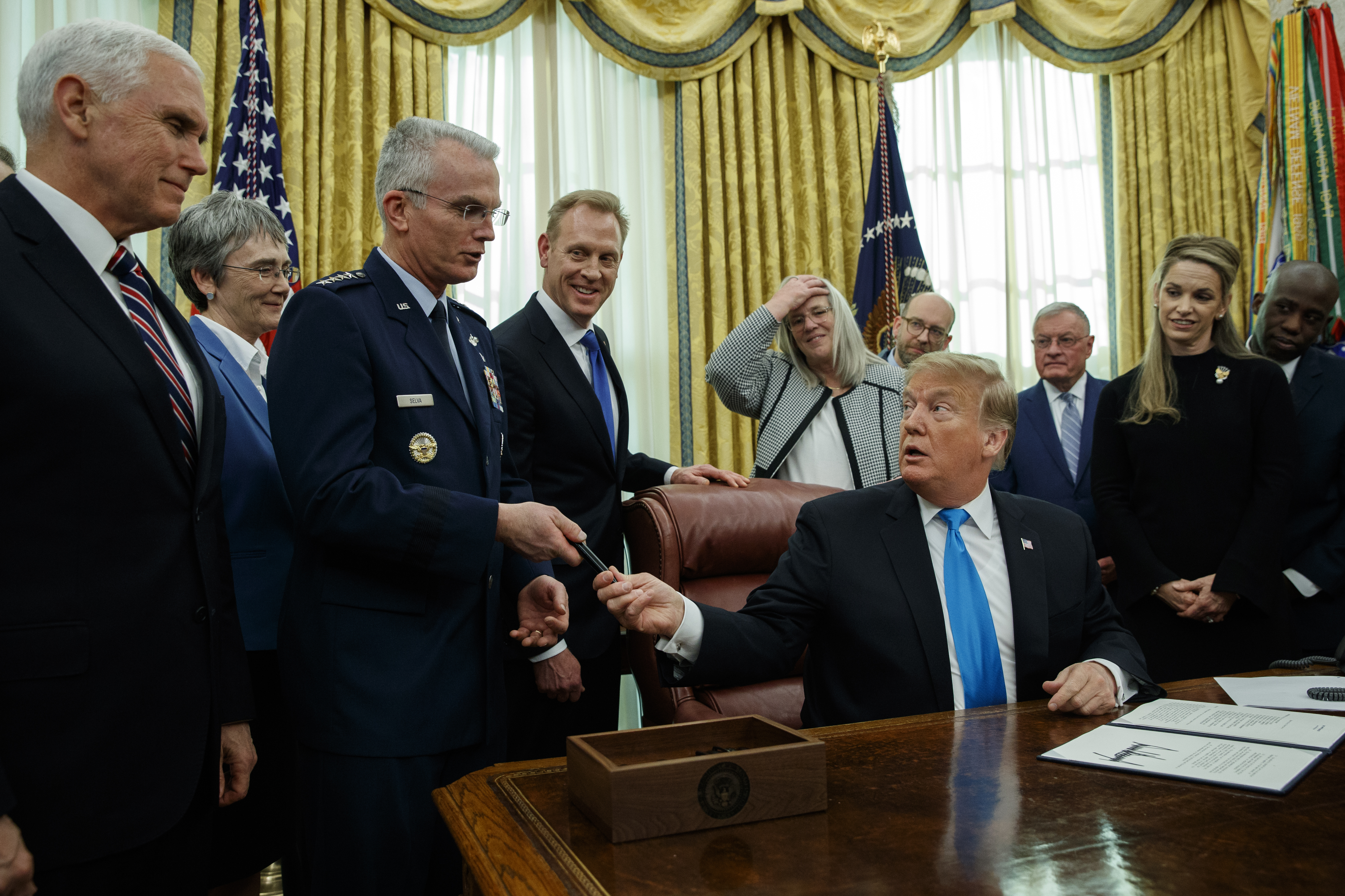 Senate panel plans first hearing on Trump's planned Space Force