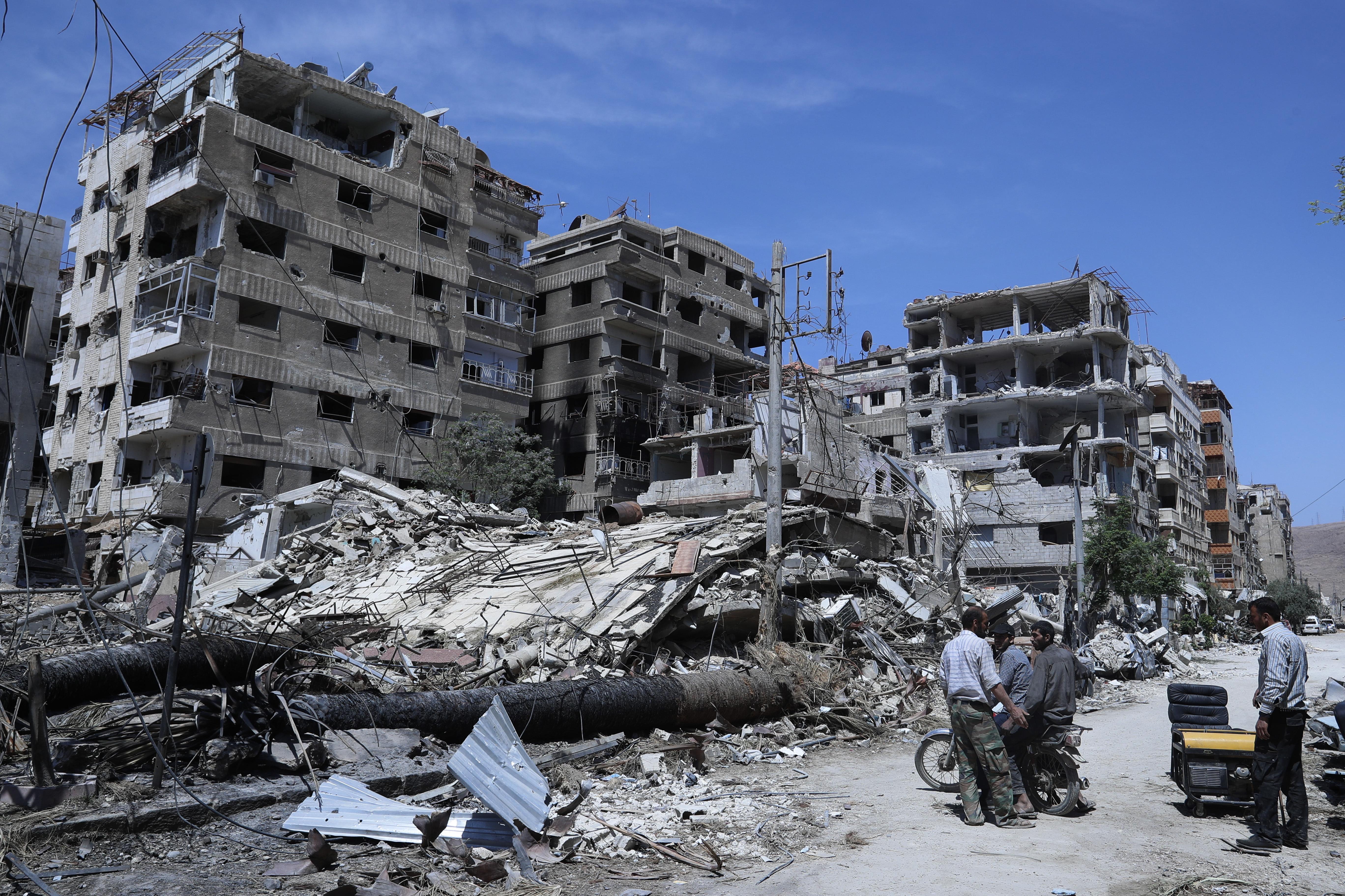 U.S. Syria envoy 'cannot confirm' latest claim of chemical weapons in Syria