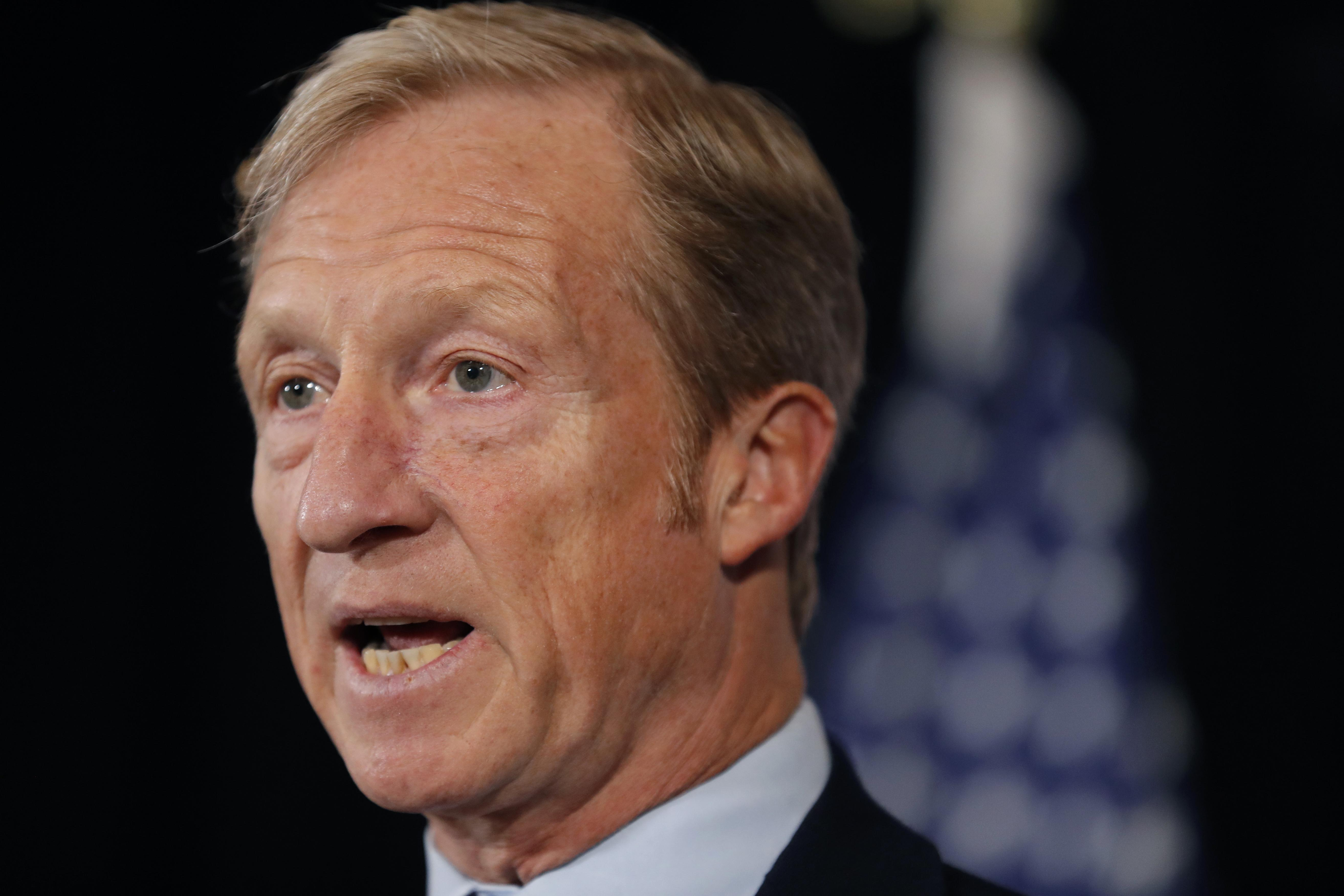 Tom Steyer's 'Need to Impeach' targets Democratic leadership in latest campaign