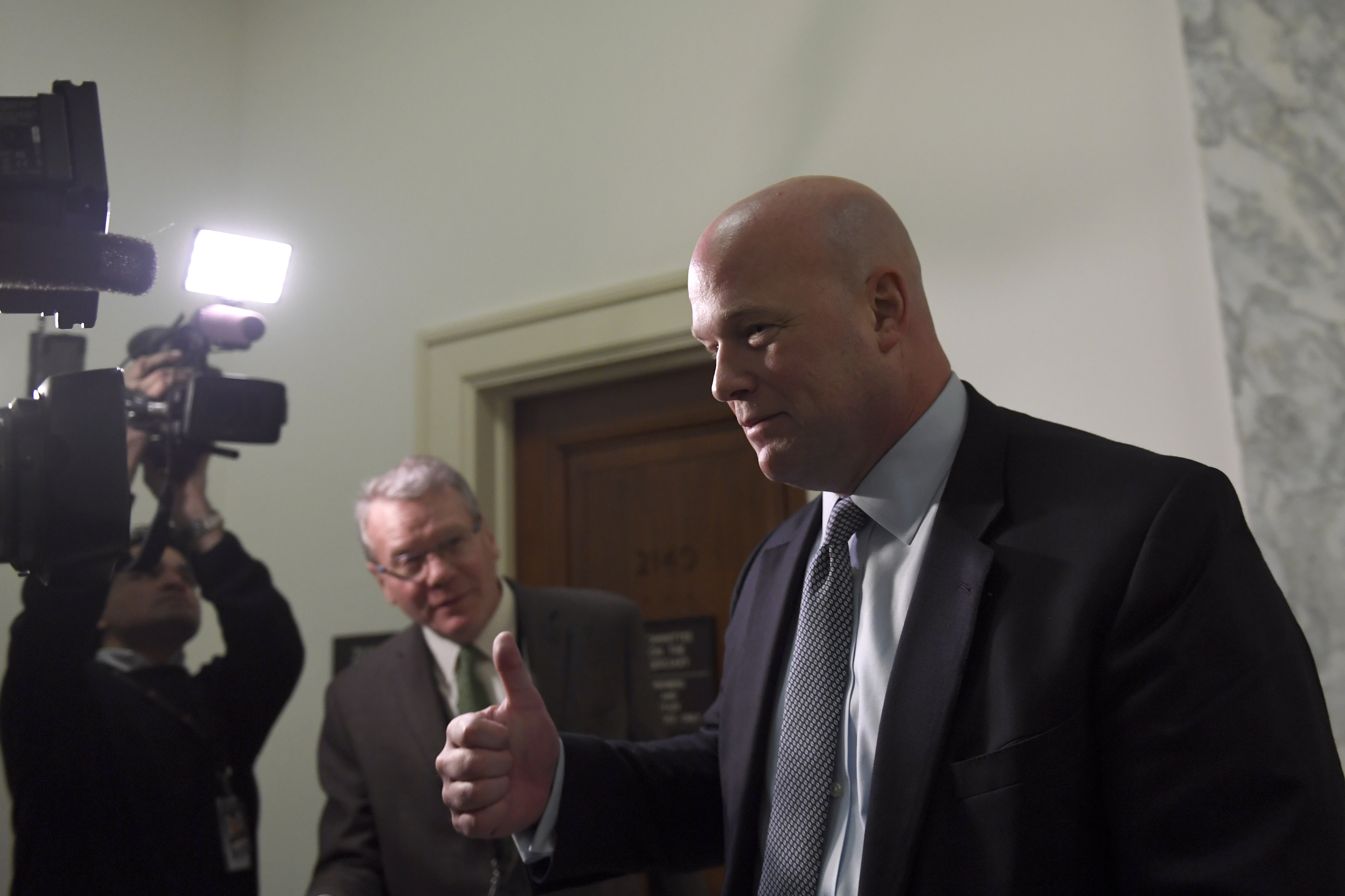Matt Whitaker says he 's looking at a 'lot of interesting opportunities'