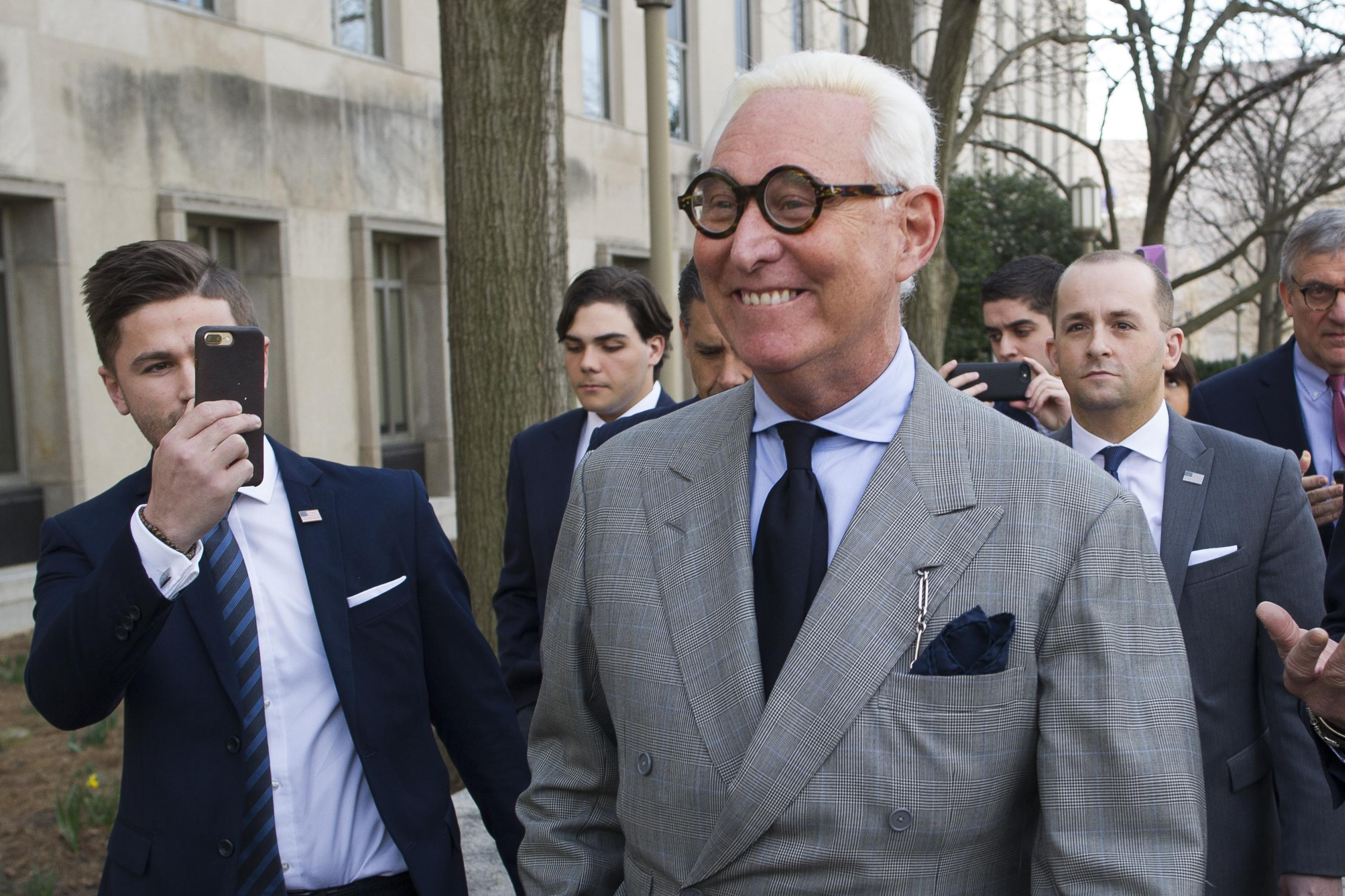Stone attorneys ask court for unredacted Mueller report to support claim of selective prosecution