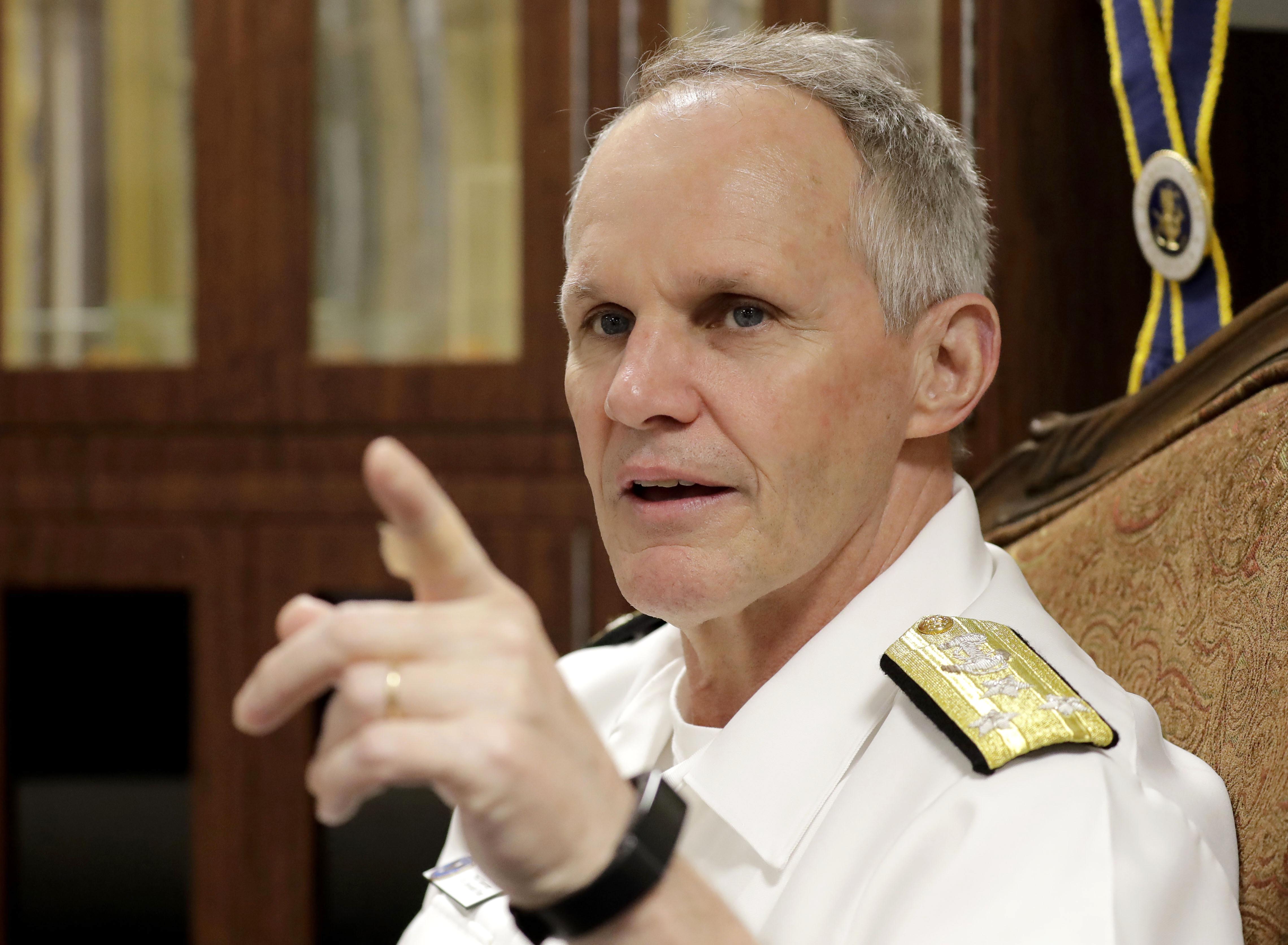 U.S. Navy won't alter sail-bys at sea despite China maneuver