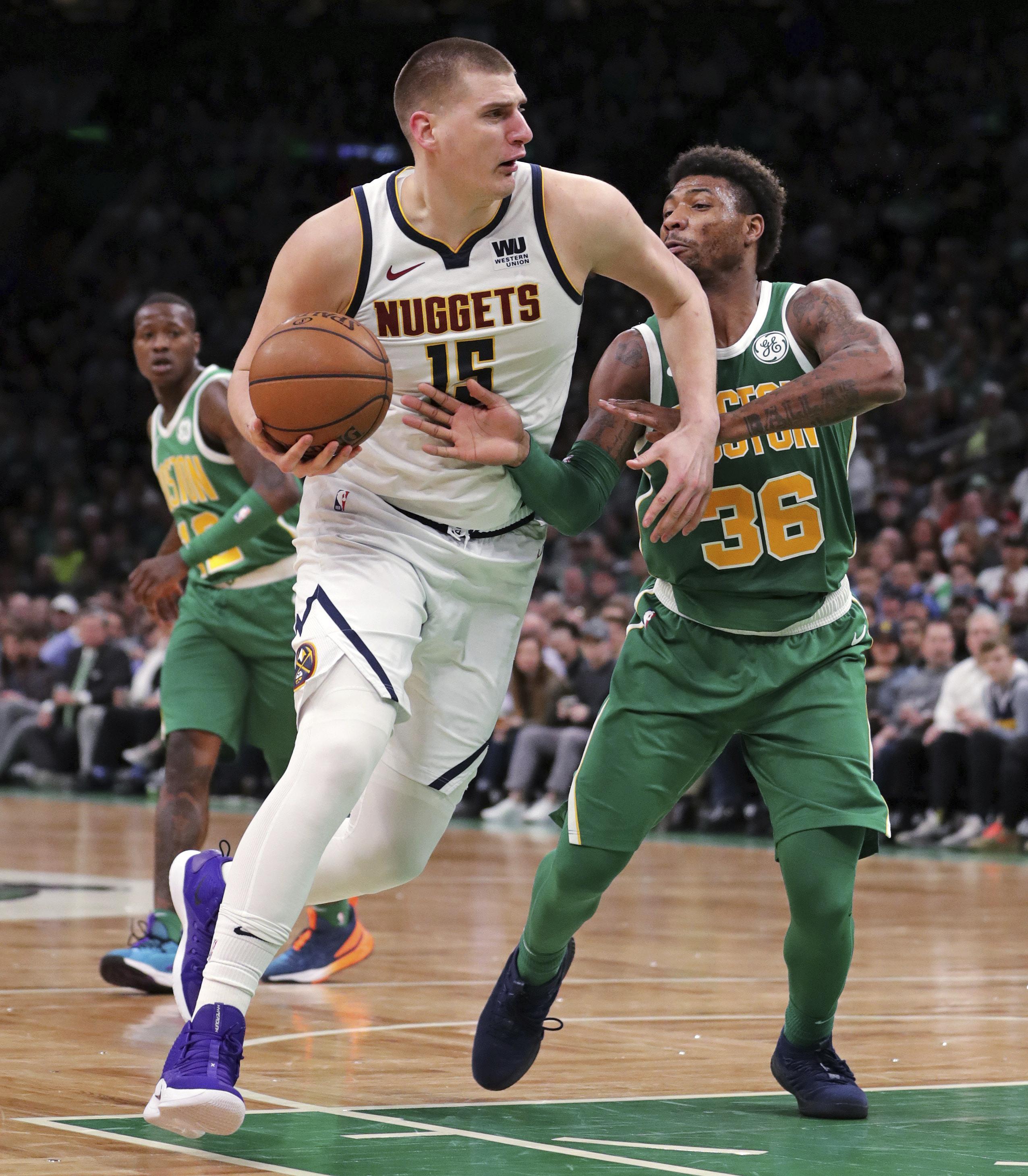 Nuggets clinch playoff spot with win over Celtics - Washington Times 4a3810e1e