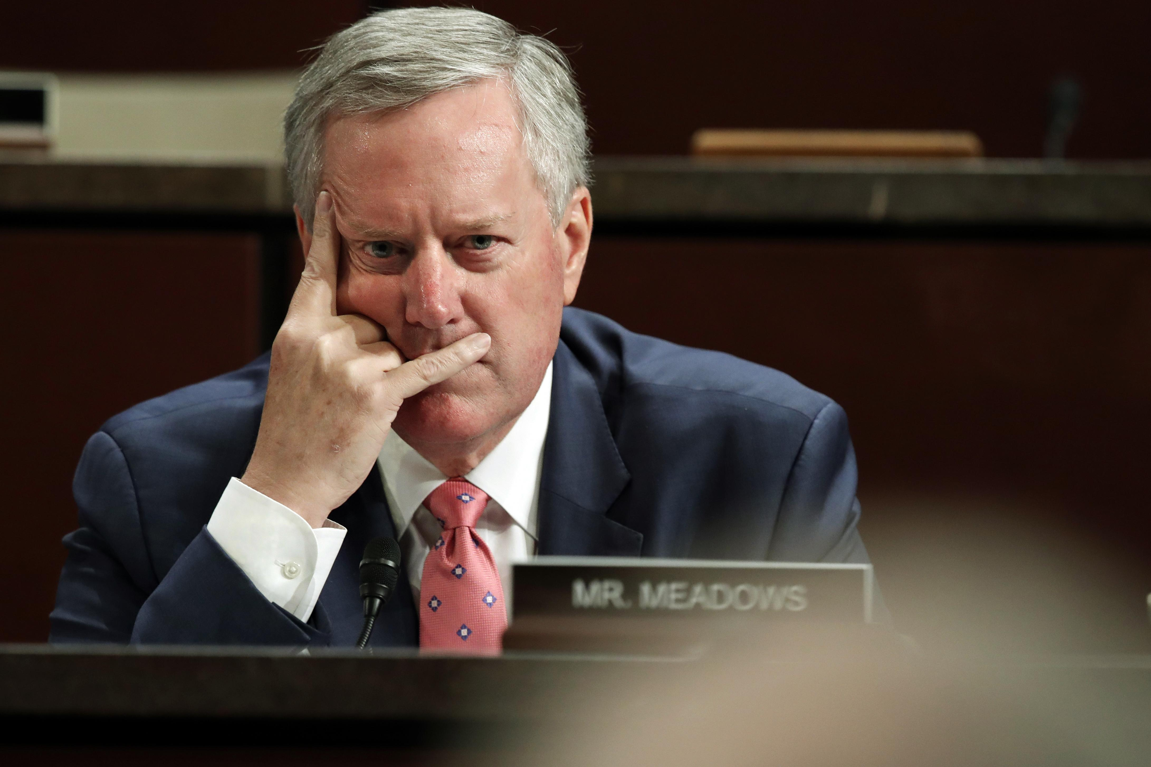 Mueller 'better be prepared' for House hearing, Meadows says