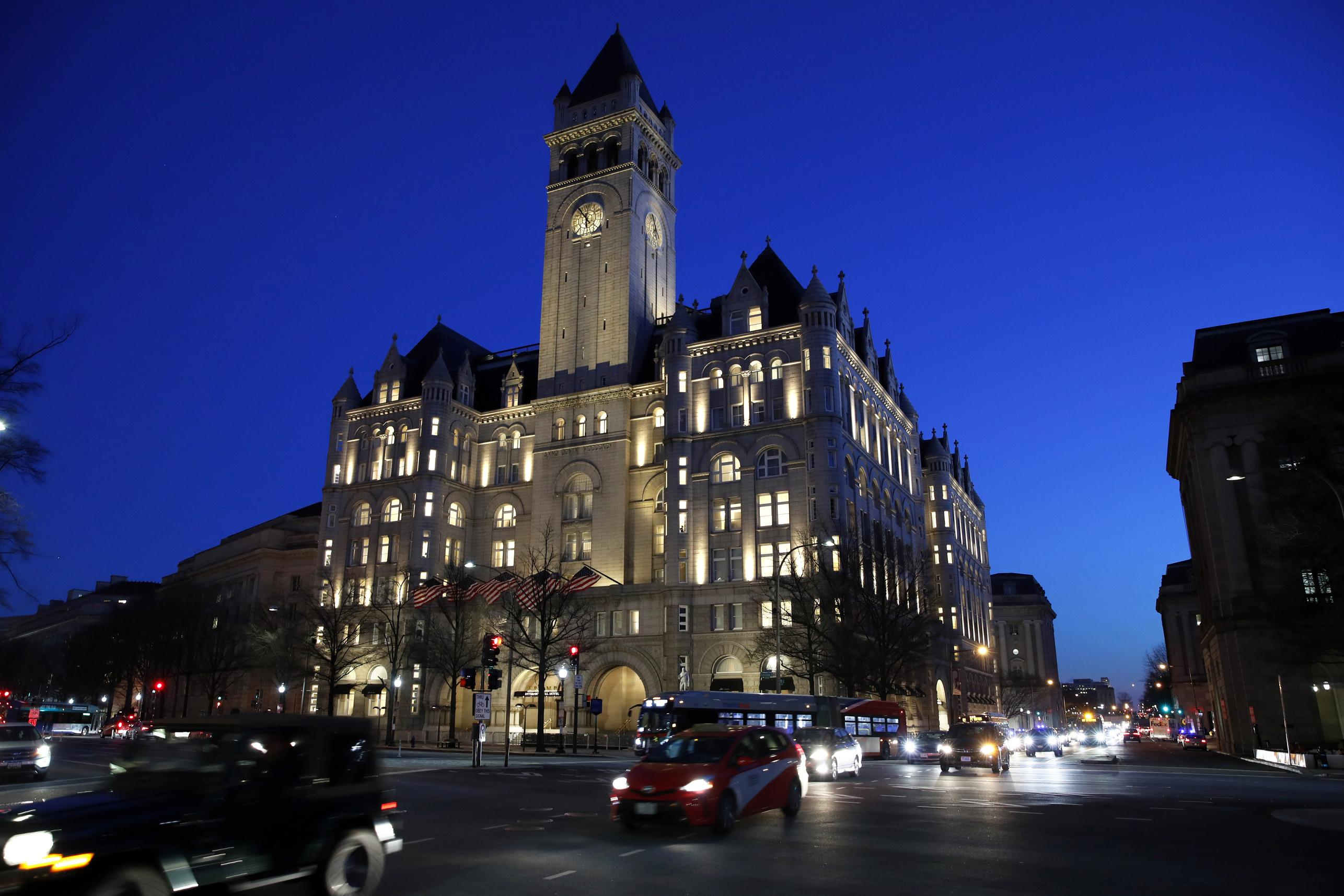 Trump hotel liquor license at risk over 'good character' requirement