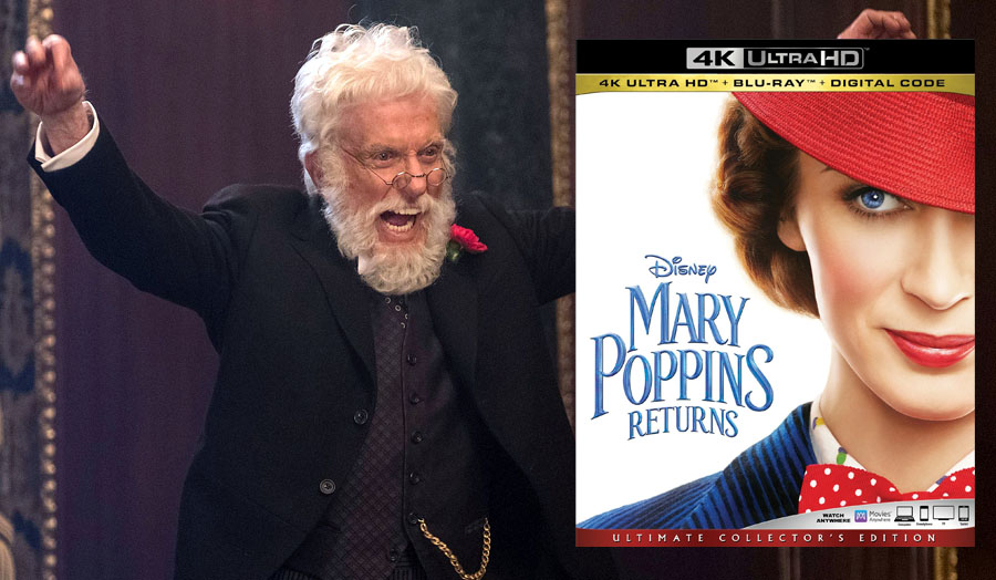 'Mary Poppins Returns: Ultimate Collector's Edition' 4K Ultra HD review
