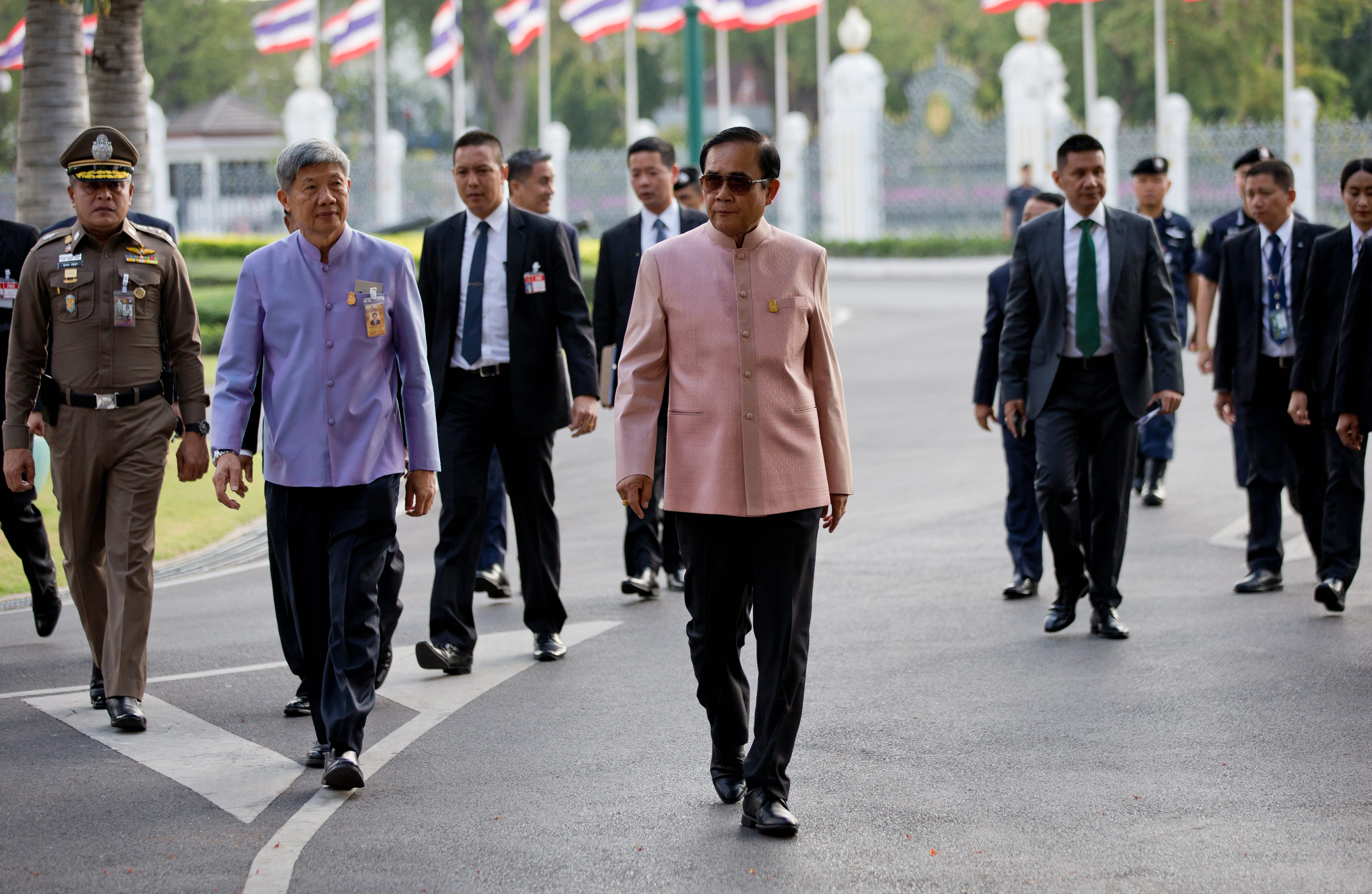 Thailand's long-delayed election pits junta 'dictator' against pro-democracy 'scum'