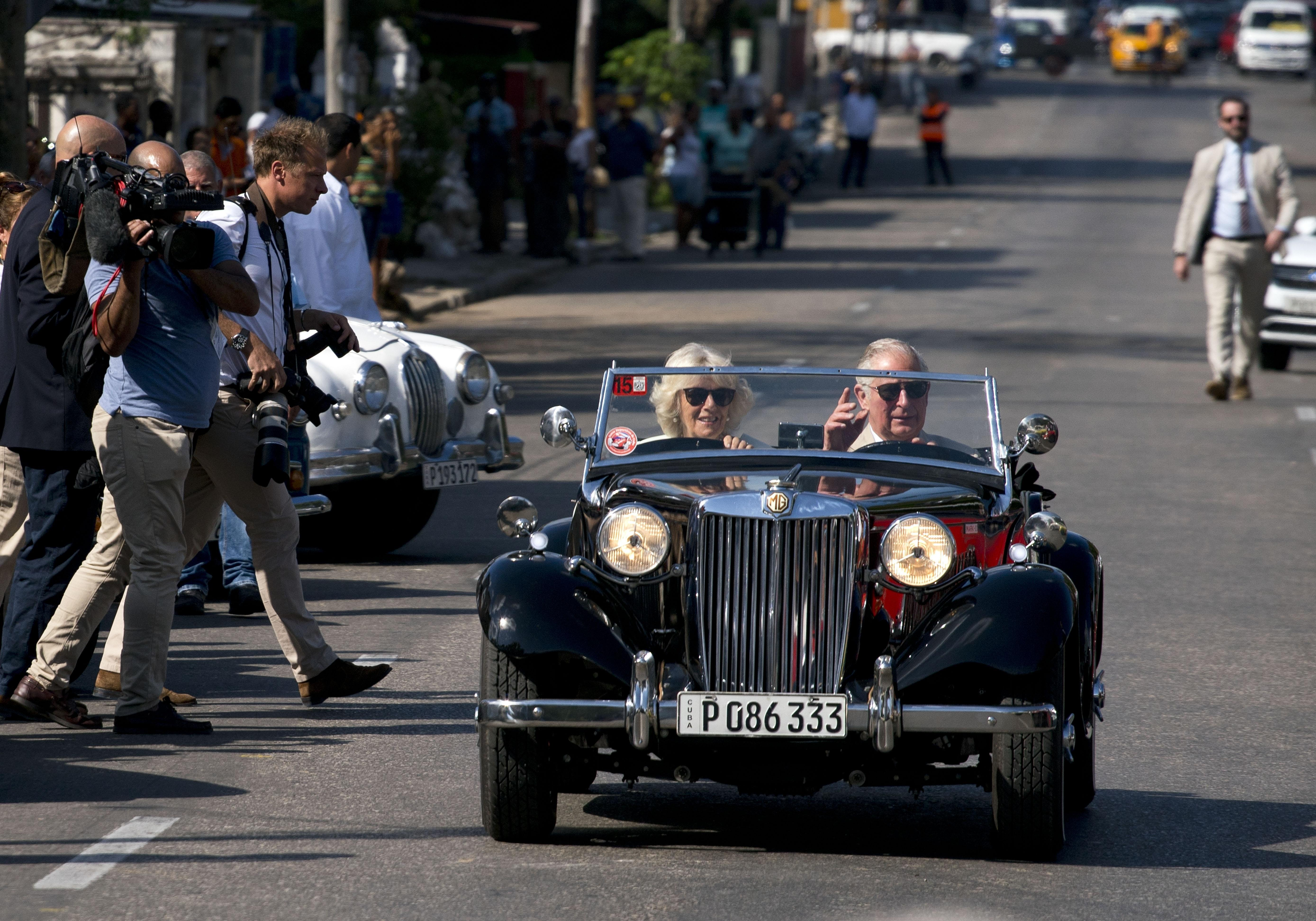 Royal couple visit UK-linked sites on second day in Cuba