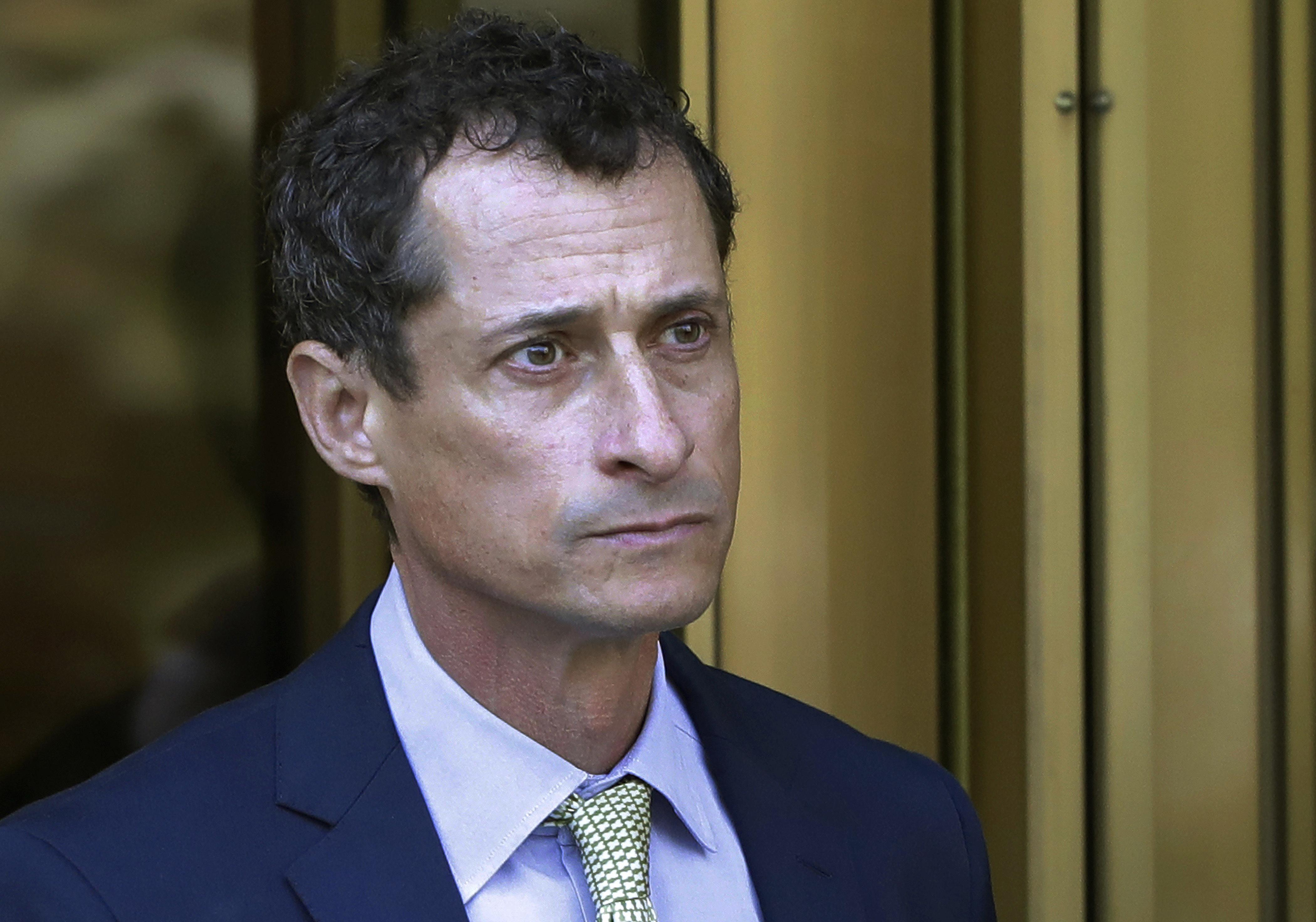 Weiner designated Level 1 sex offender as disgraced ex-congressman nears end of sentence