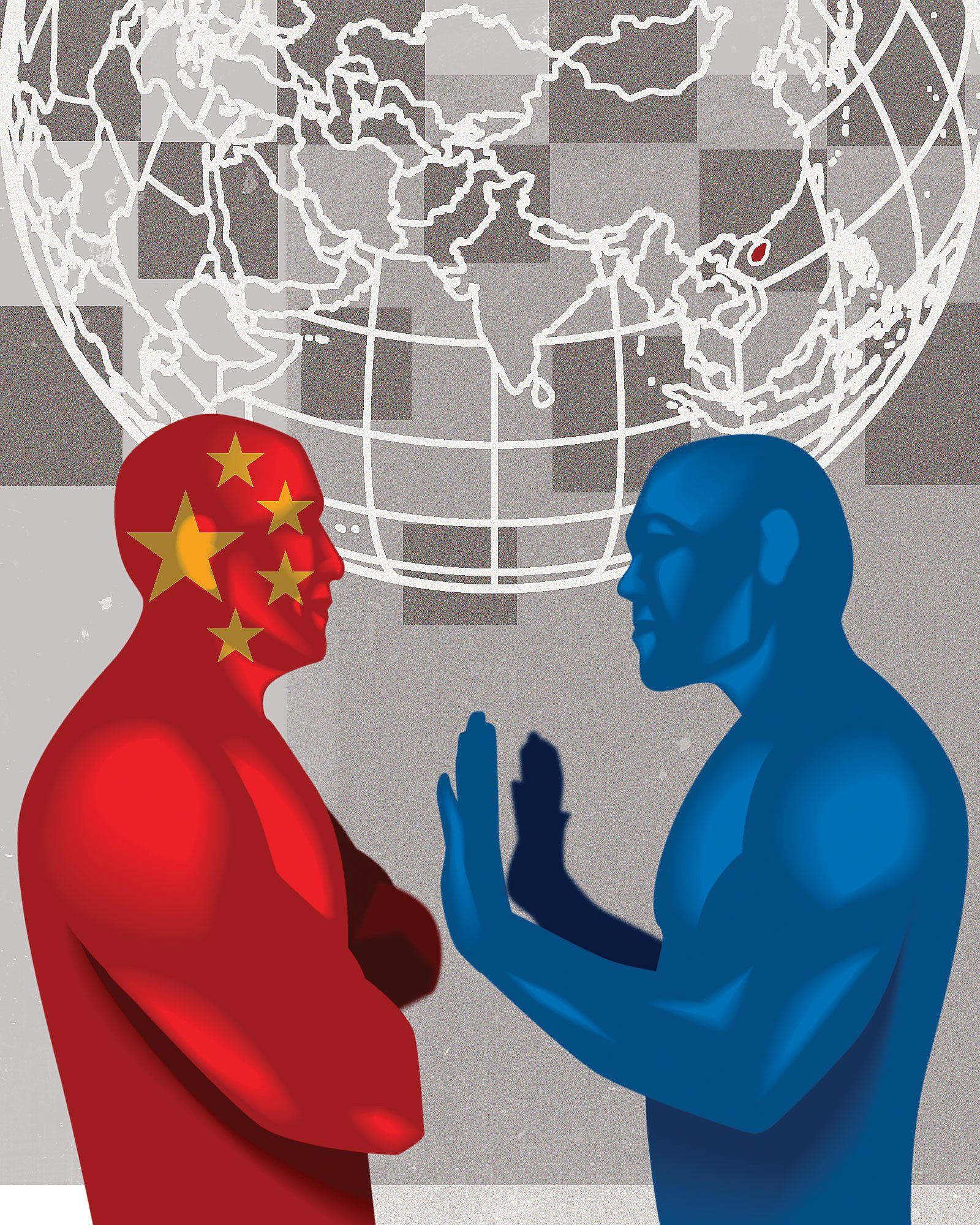 Sino-American conflict is aggravated by sovereignty issues in the Pacific Rim