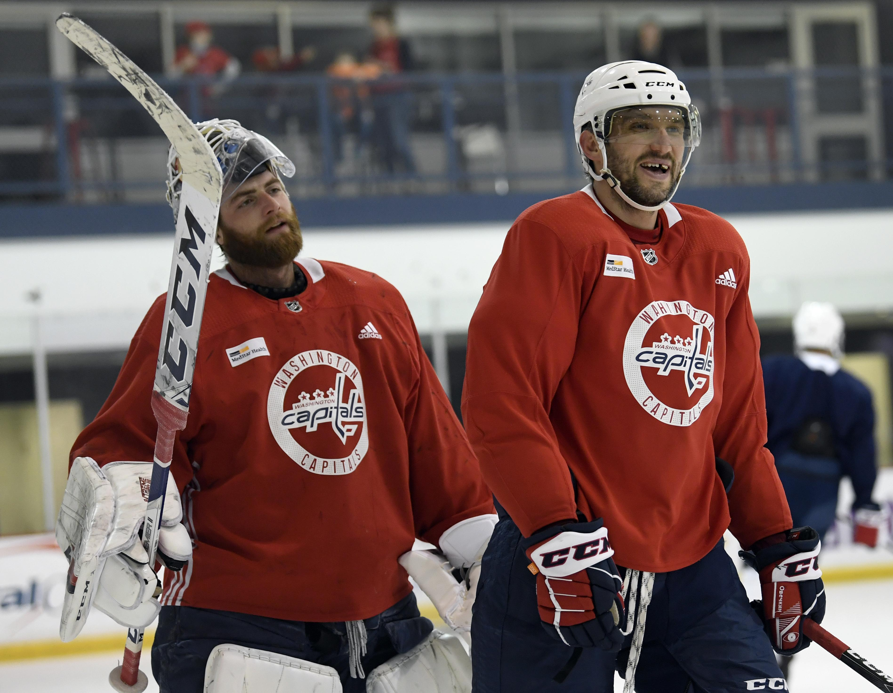 Braden Holtby And Capitals No Ghosts Washington Times