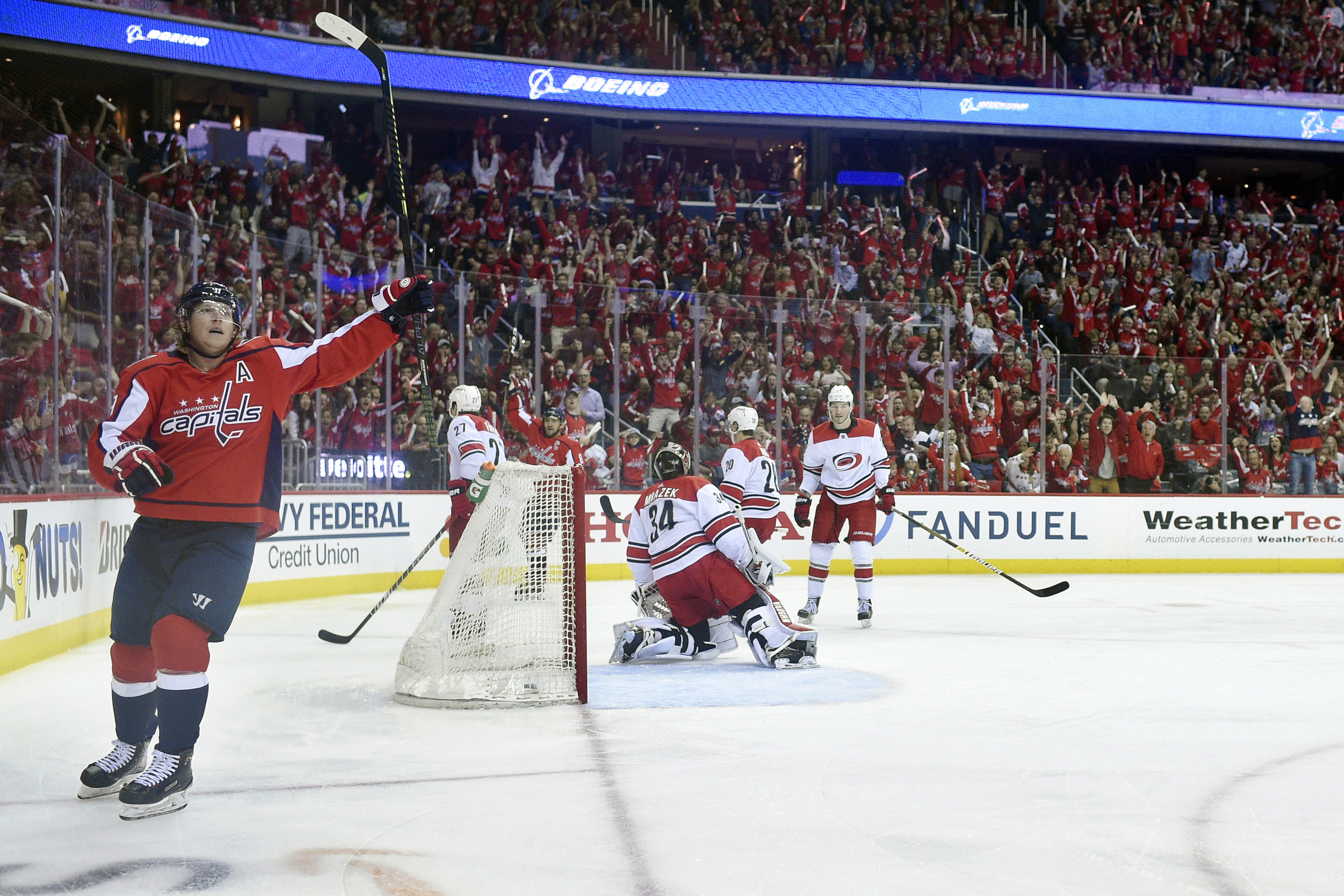 0b0f2772dc42 Nicklas Backstrom saves Capitals from a disaster in the making - Washington  Times