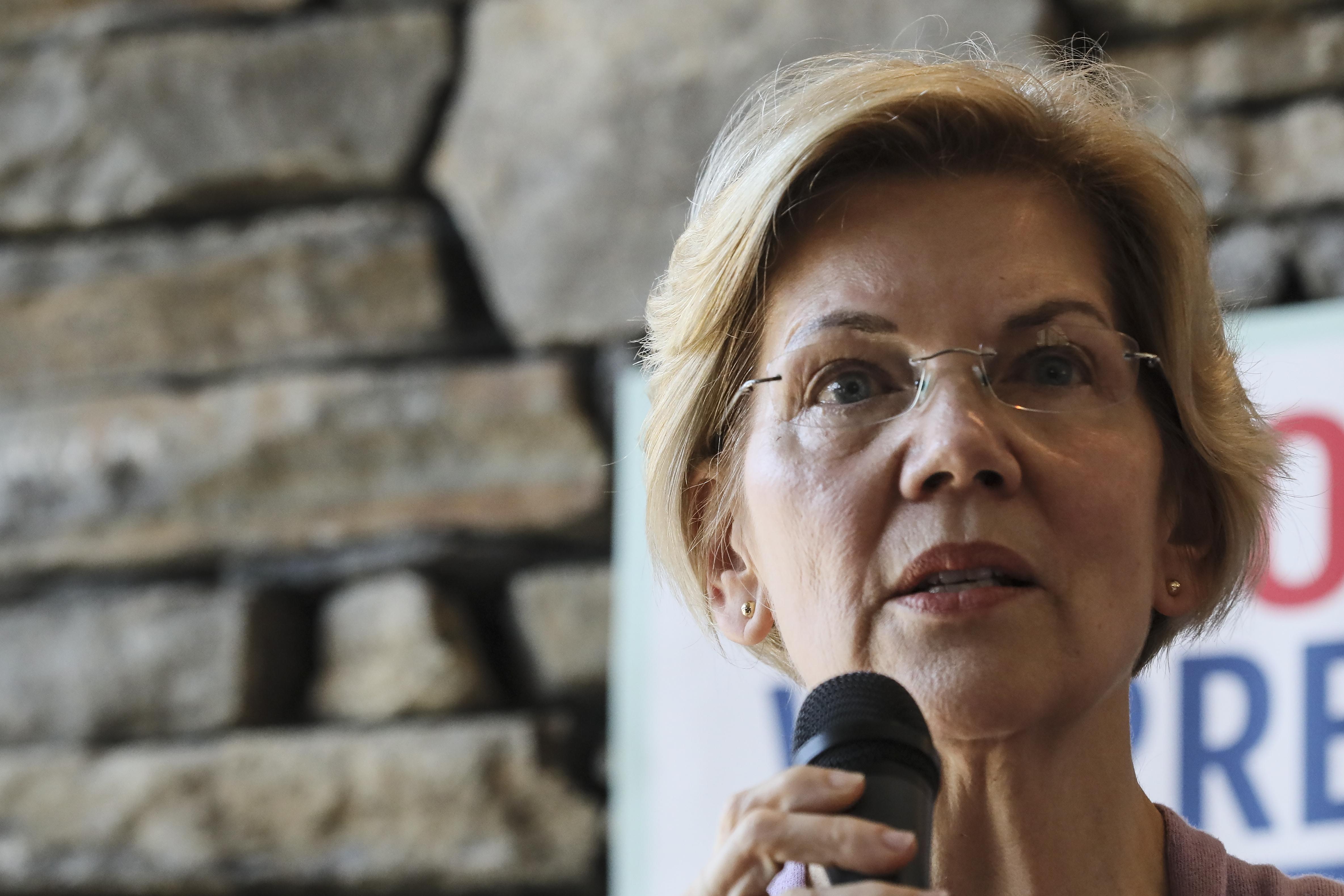 Elizabeth Warren calls out Pentagon response to climate change