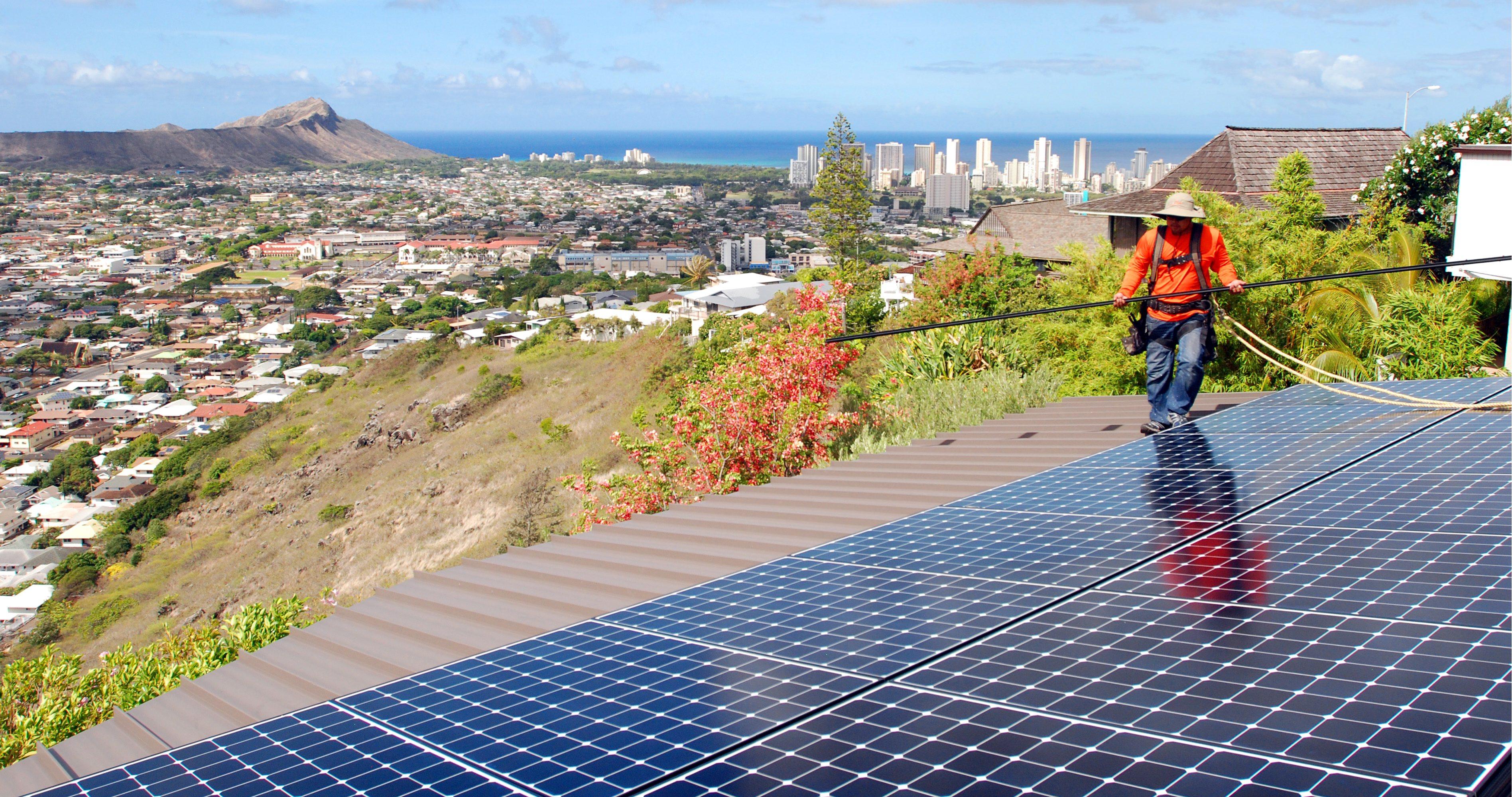 Solar energy usage more than 'sun coast' experience